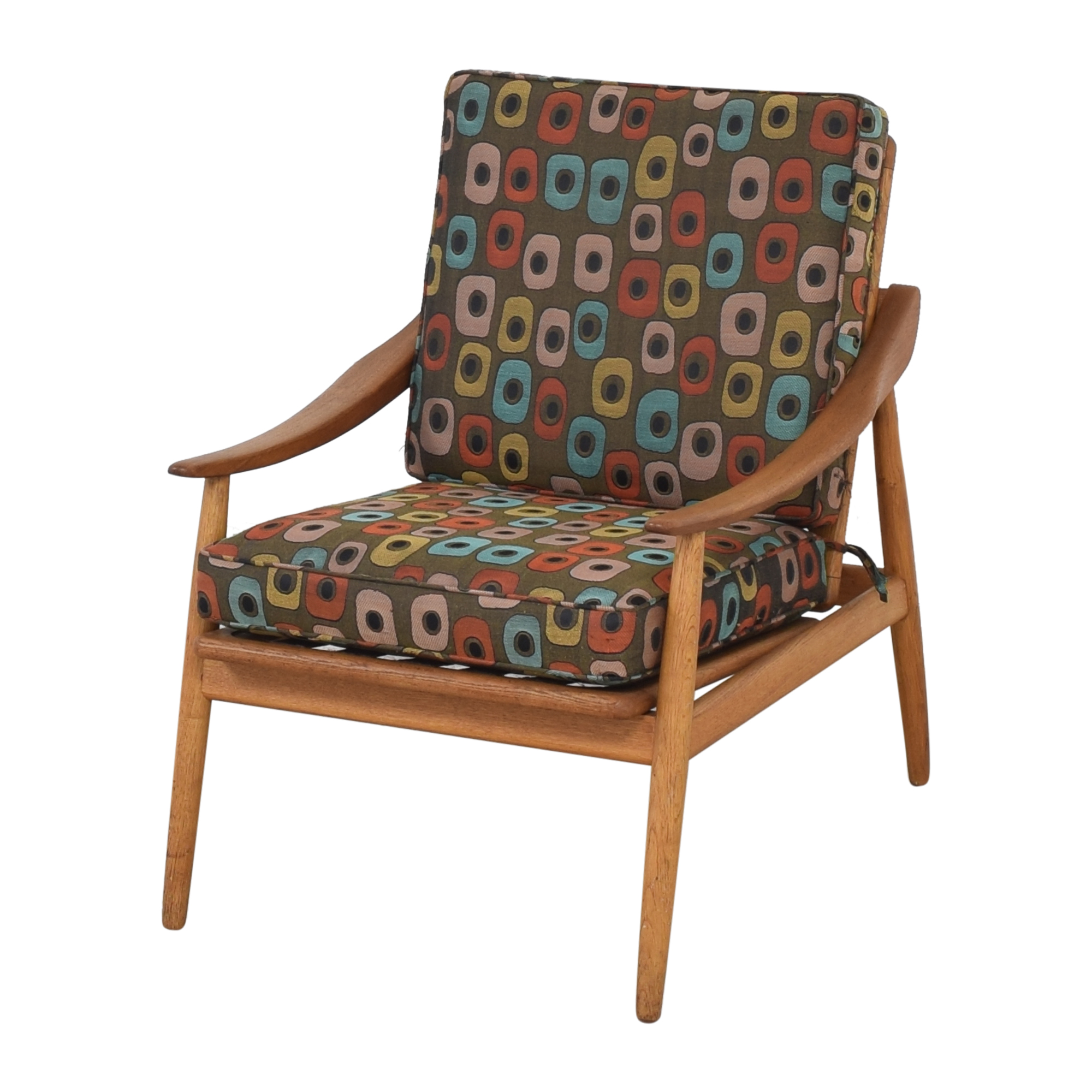 Mid-Century Style Reclining Arm Chair ct