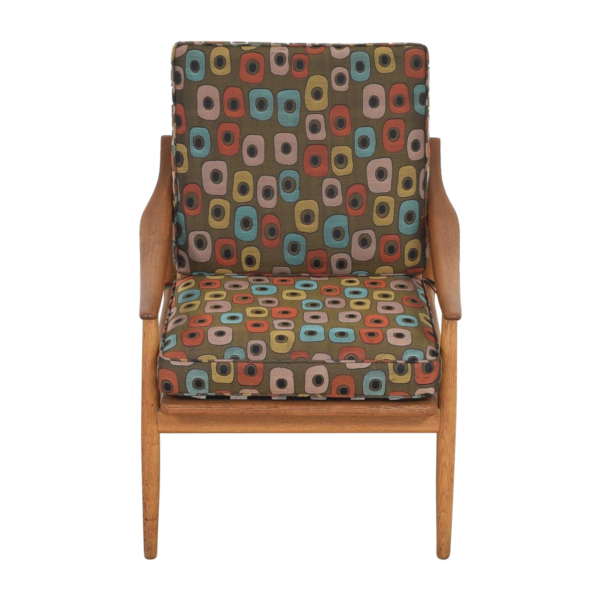 Mid-Century Style Reclining Arm Chair multi
