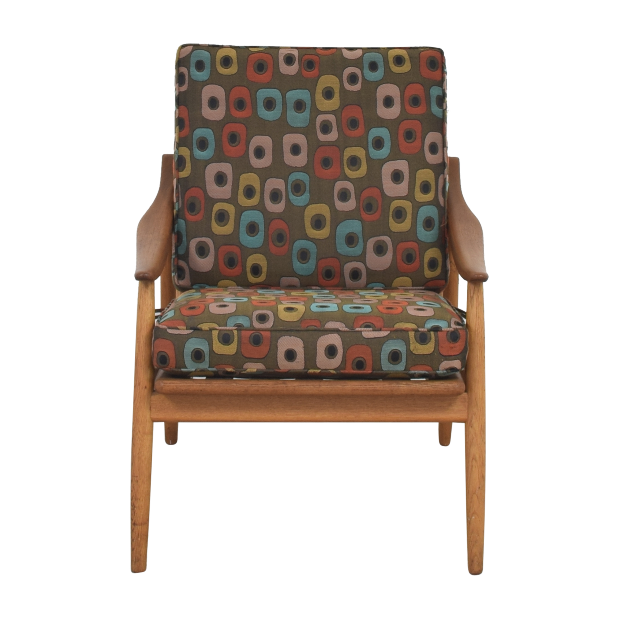 buy Mid-Century Style Reclining Arm Chair