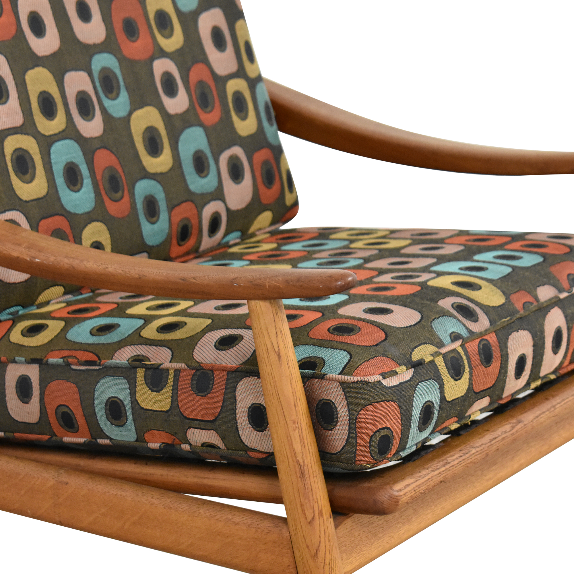 Mid-Century Style Reclining Arm Chair used