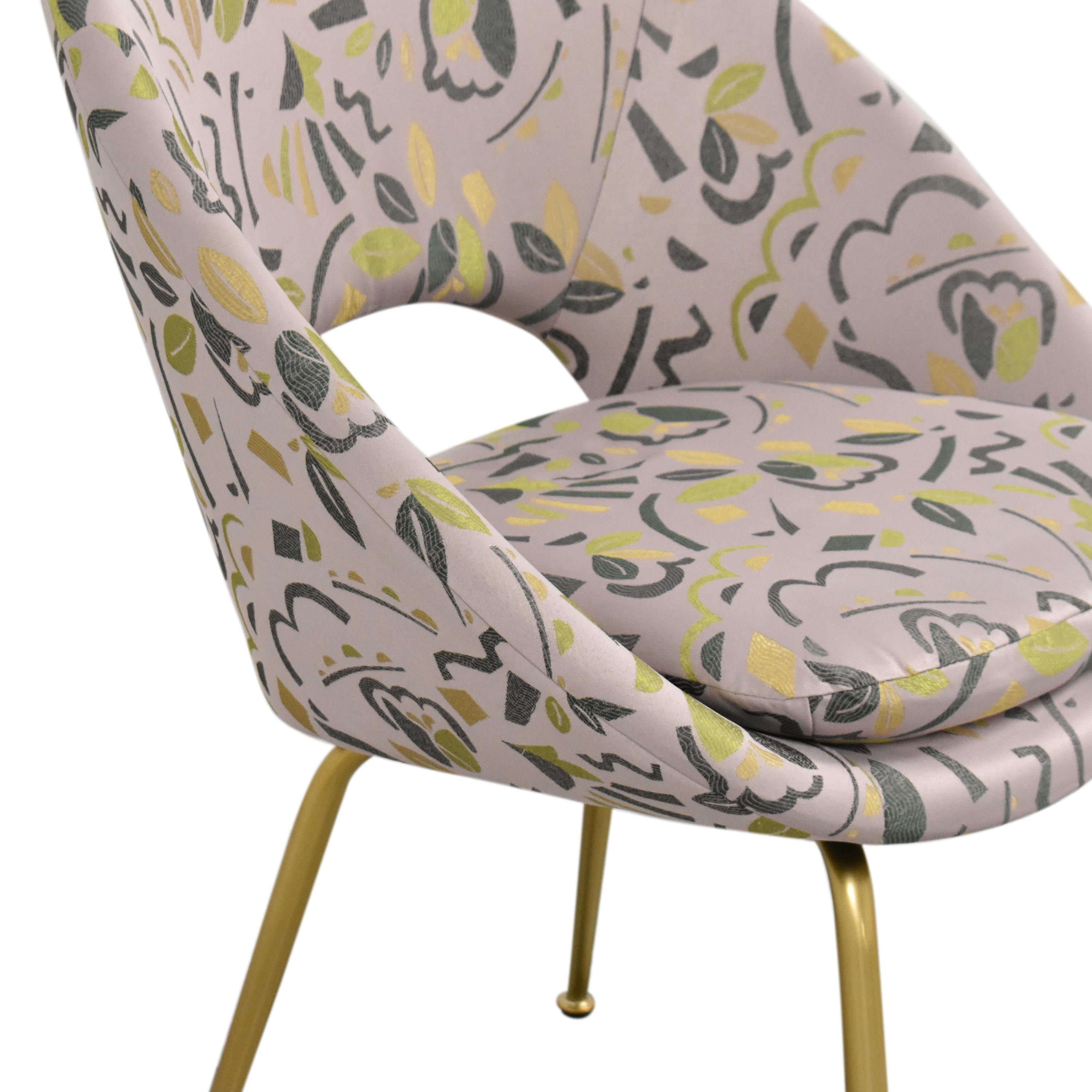 West Elm West Elm Orb Upholstered Chair used