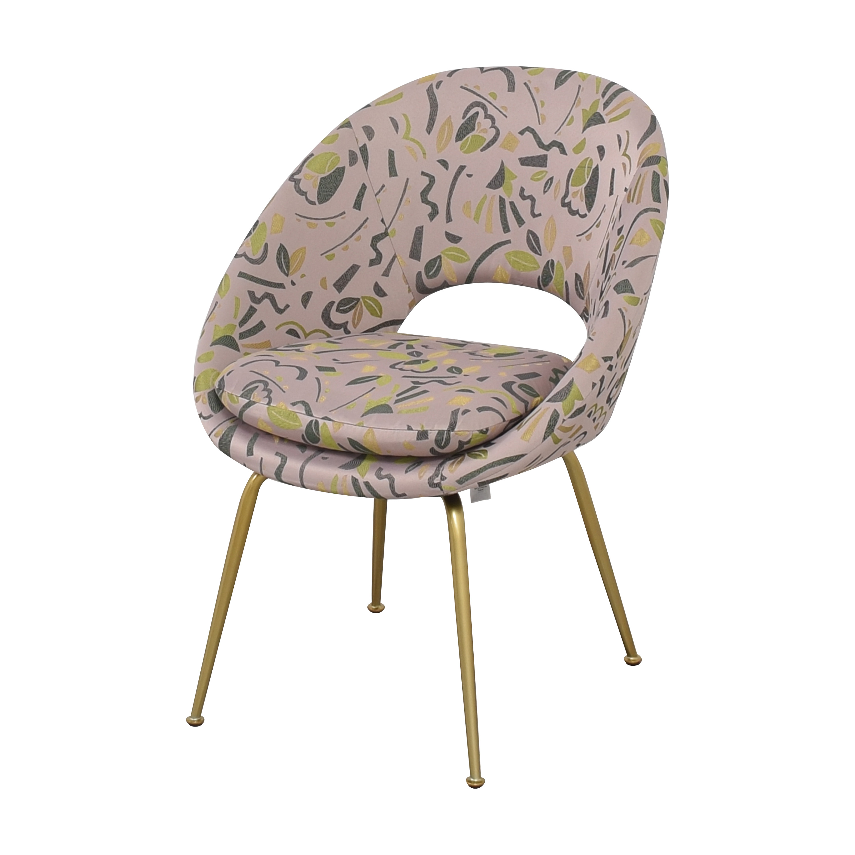 West Elm West Elm Orb Upholstered Chair multi