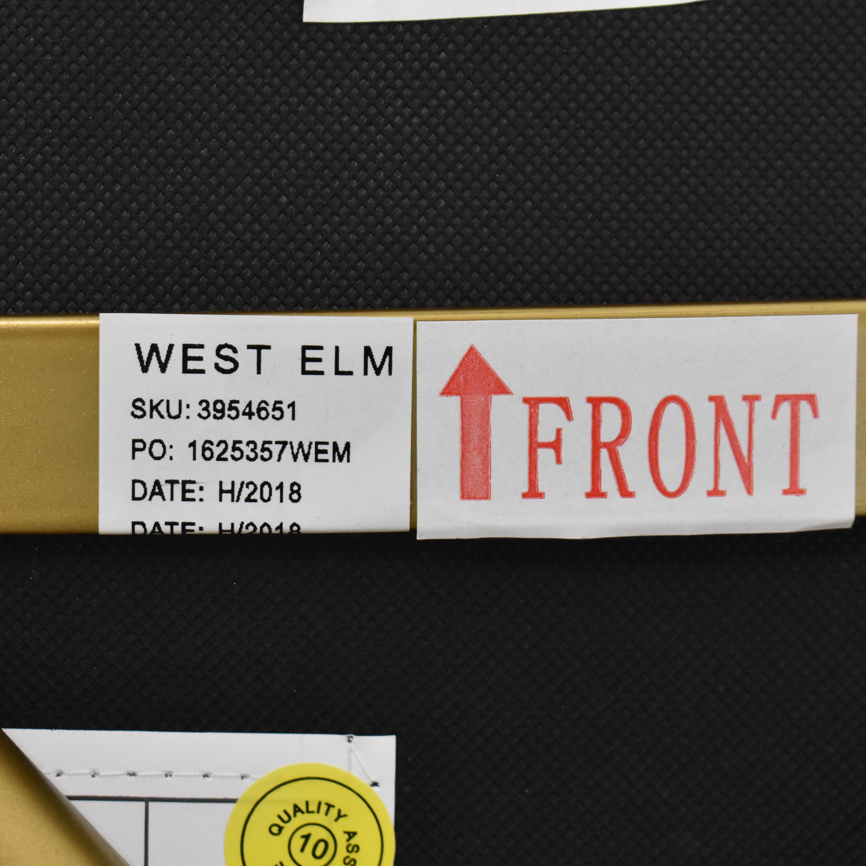 West Elm West Elm Orb Upholstered Chair nj