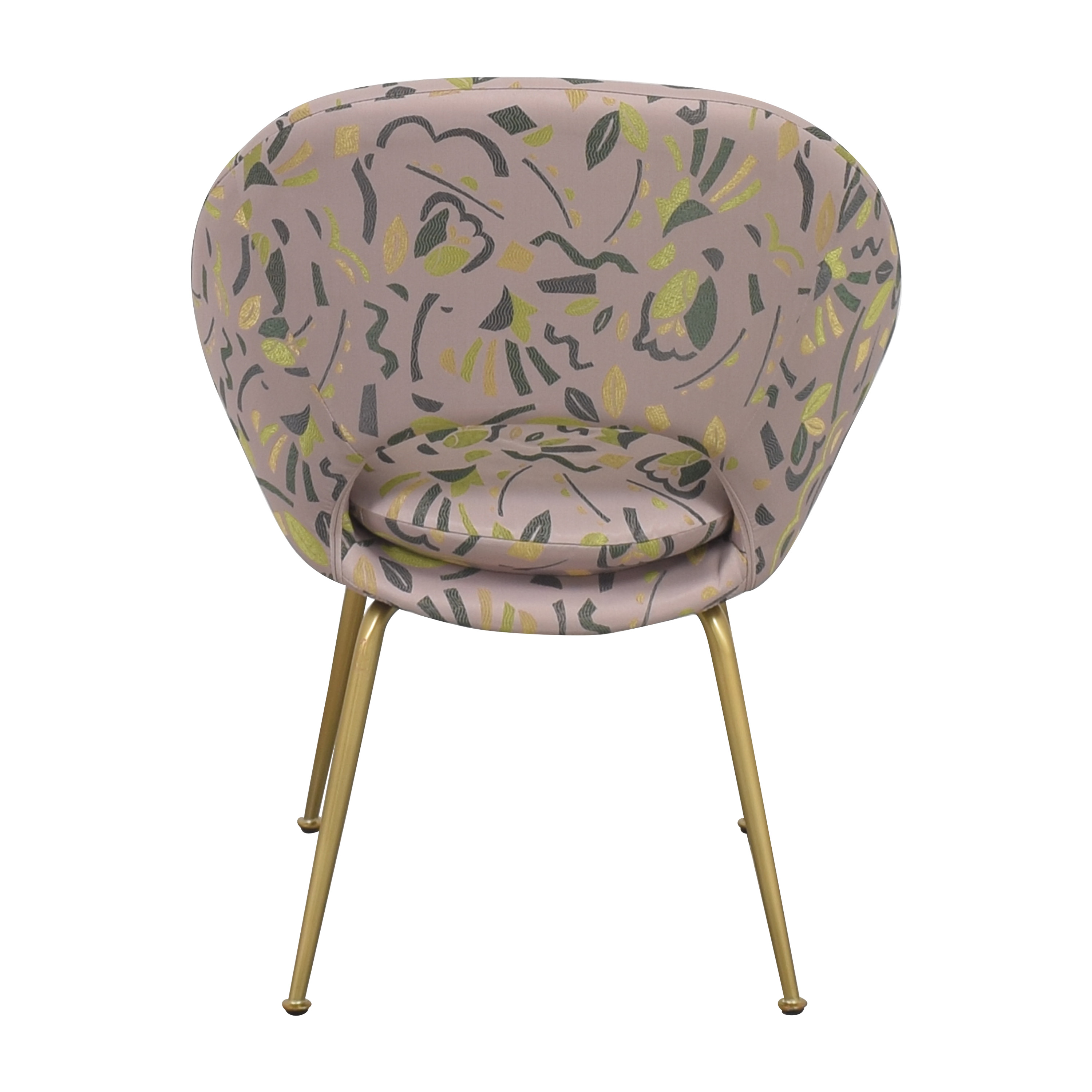 West Elm West Elm Orb Upholstered Chair Accent Chairs