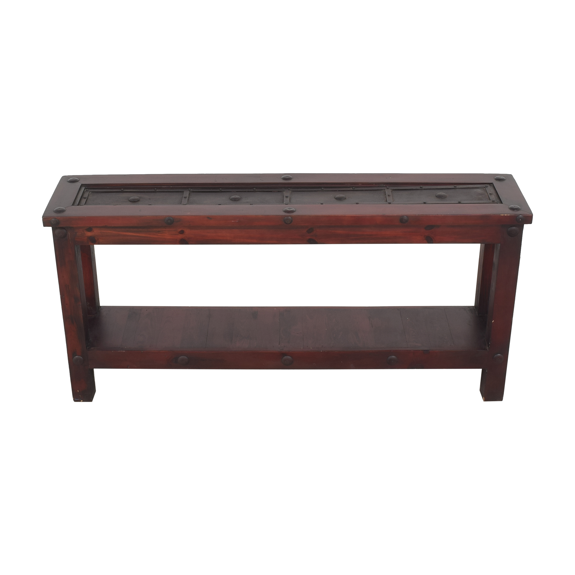 buy Rustic Reclaimed Console Table