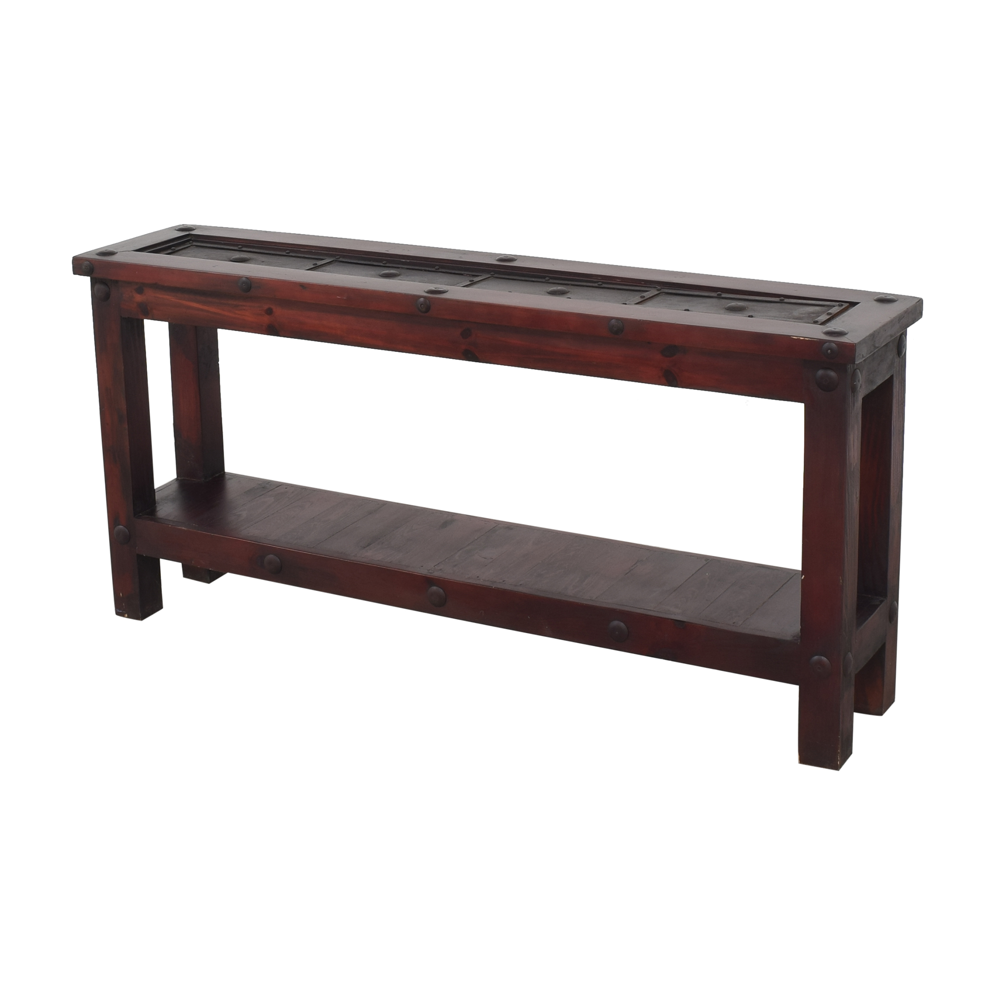 Rustic Reclaimed Console Table Tables