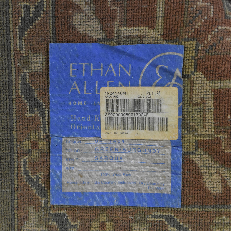 Ethan Allen Sarouk Area Rug / Decor