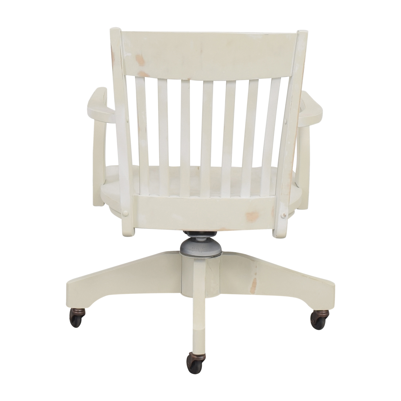 Pottery Barn Swivel Desk Chair  / Chairs