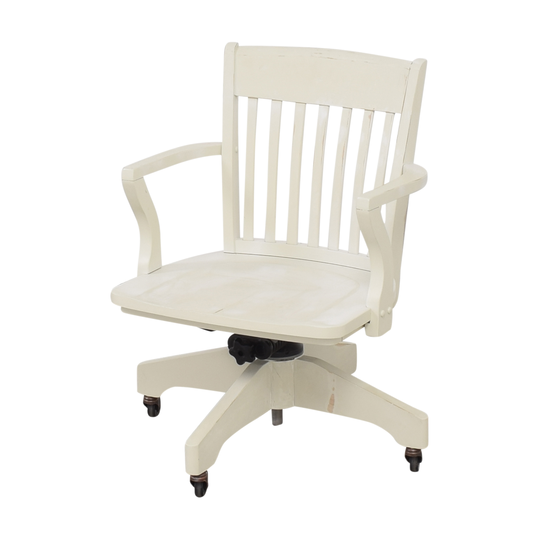 buy Pottery Barn Swivel Desk Chair  Pottery Barn Chairs