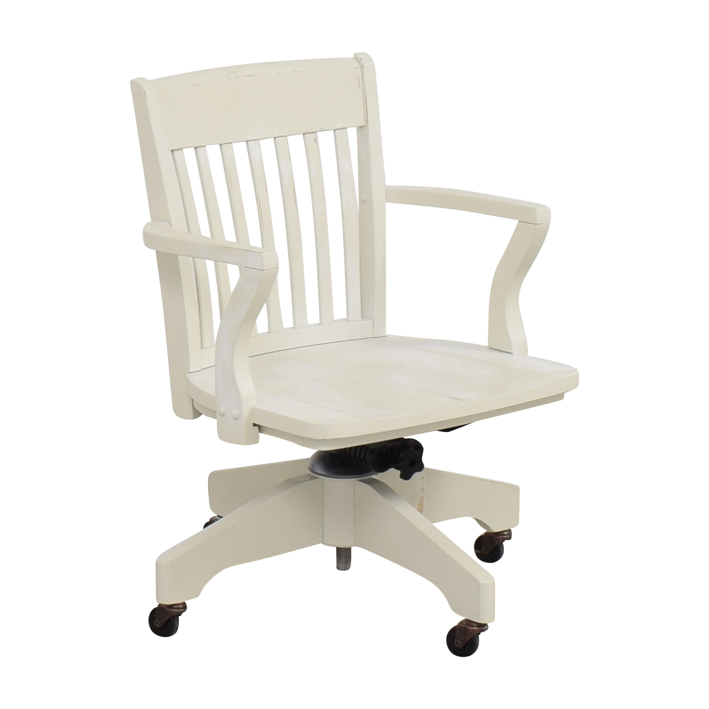 Pottery Barn Swivel Desk Chair  sale