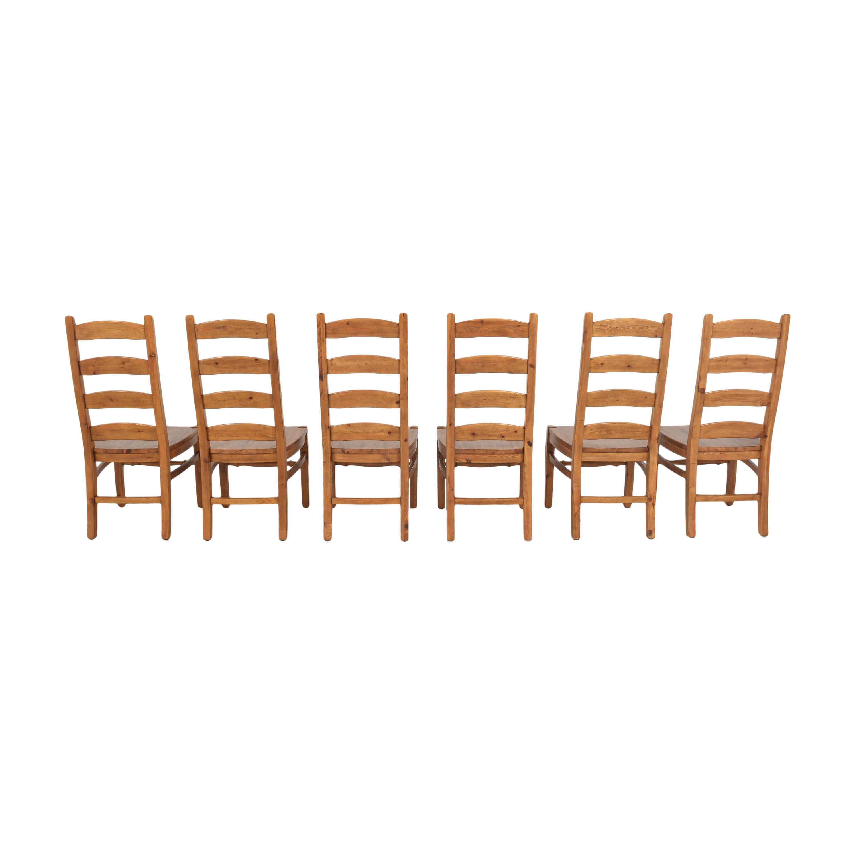 Pottery Barn Pottery Barn Wynn Ladderback Dining Chairs ma