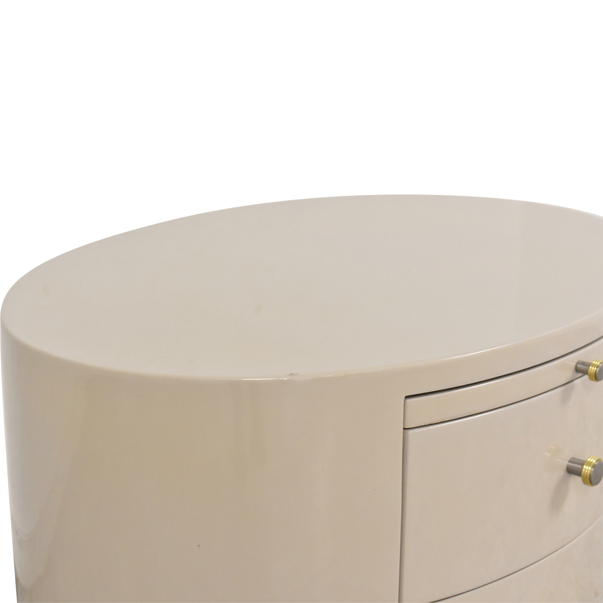 buy Three Drawer Nightstand with Desk Extension   Tables