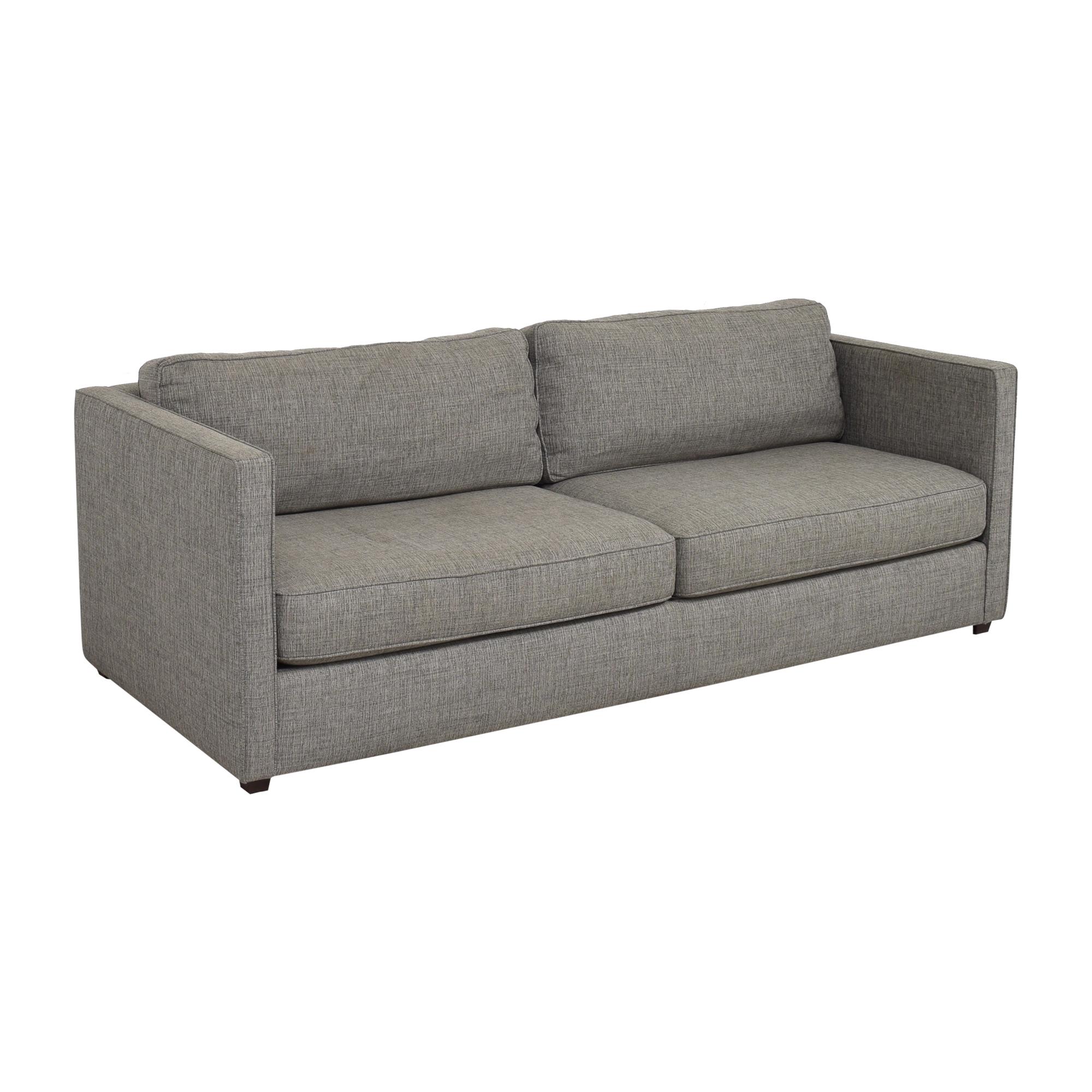 buy Room & Board Watson Two Cushion Sofa Room & Board Sofas