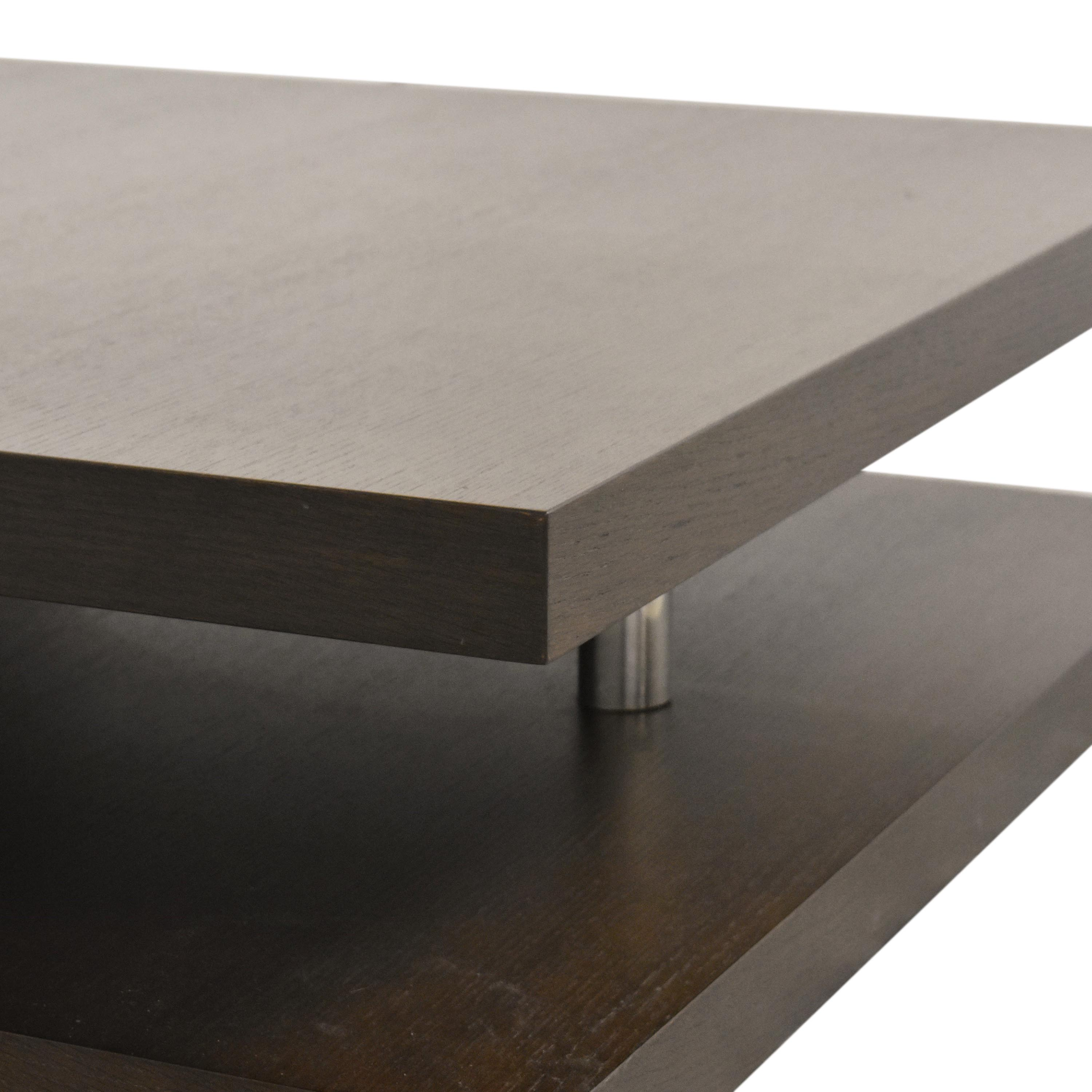 61 Off Contemporary Square Coffee Table Tables