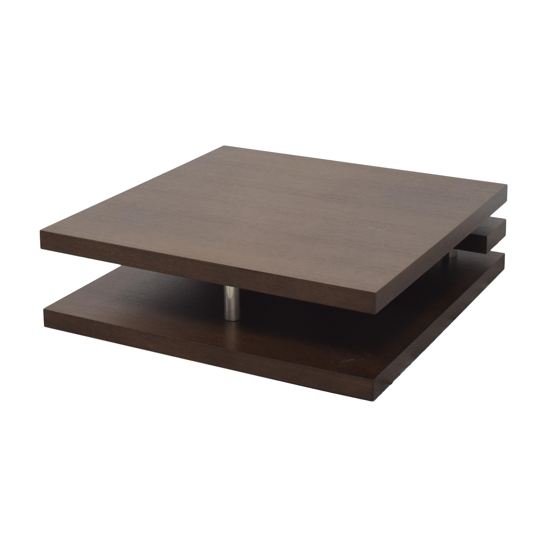 Contemporary Square Coffee Table ct