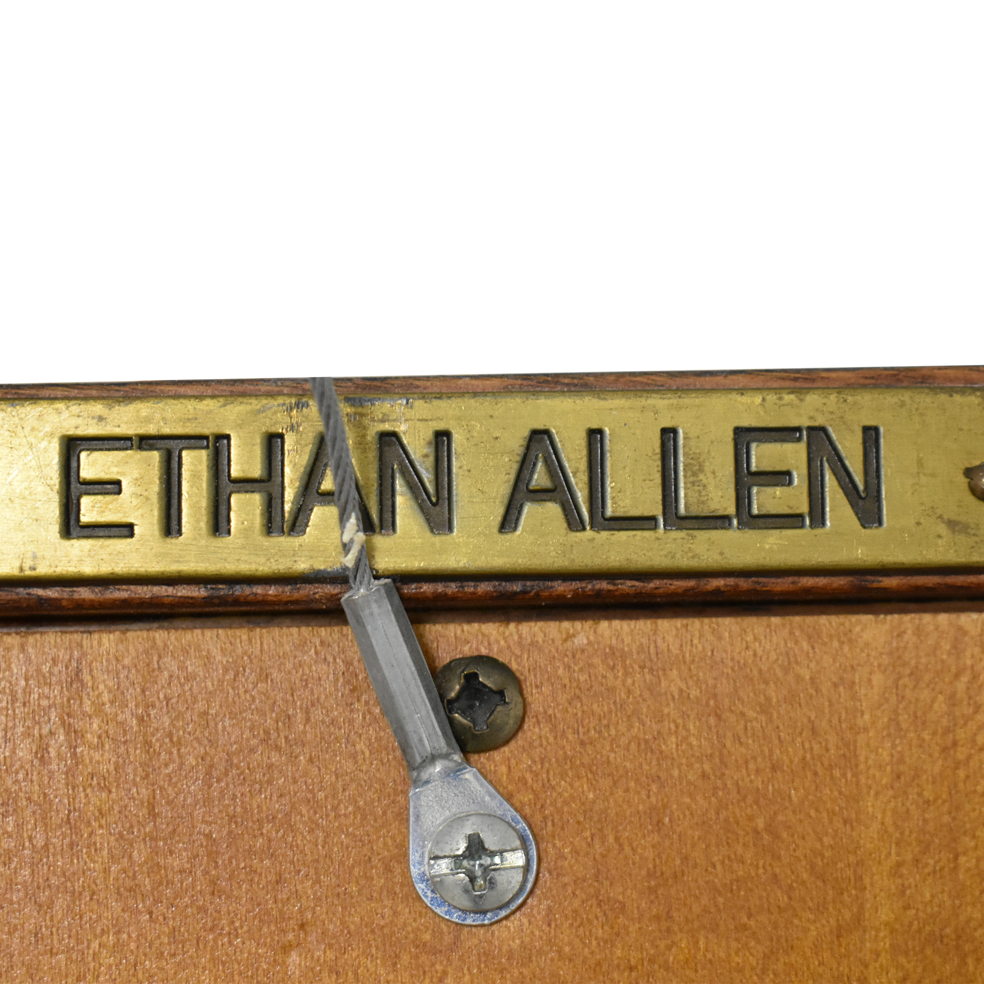 Ethan Allen Tall Bookcase / Storage