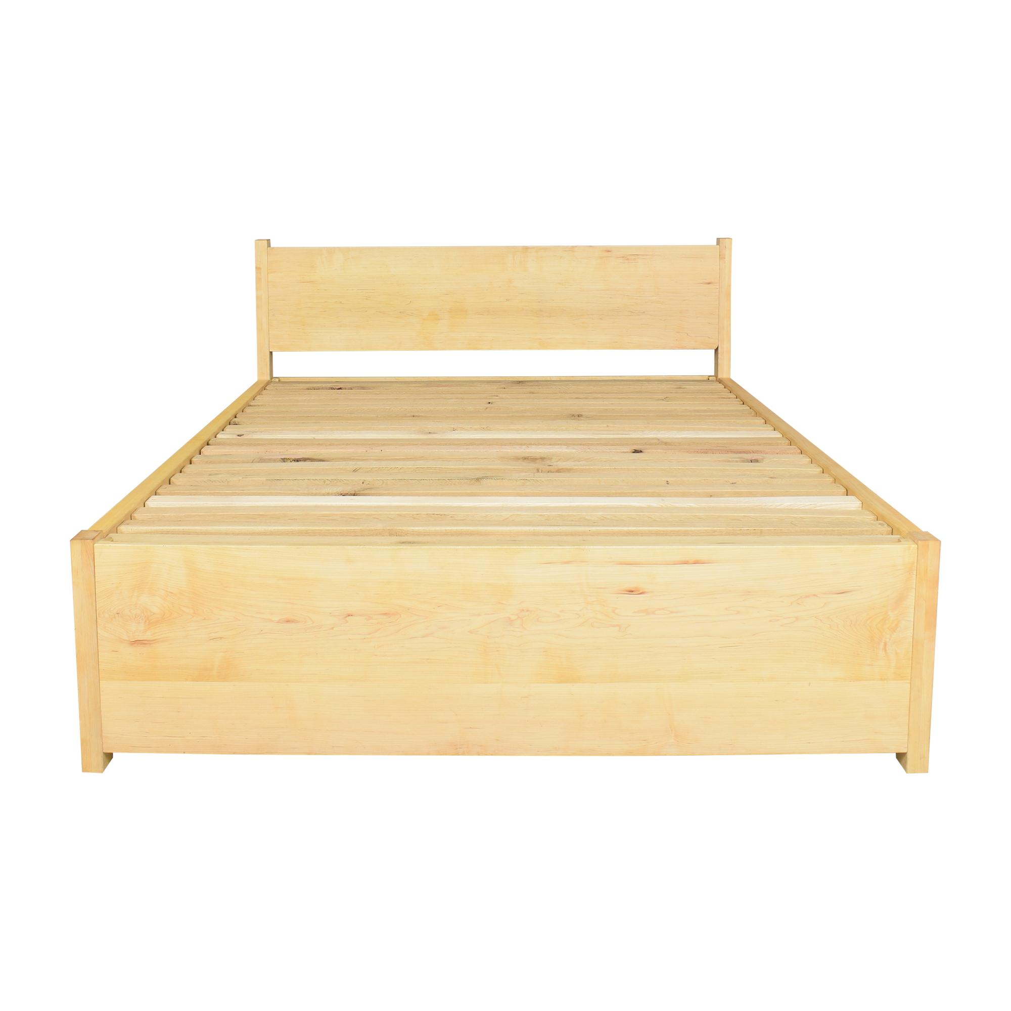 shop  Custom Platform Queen Bed with Trundle online