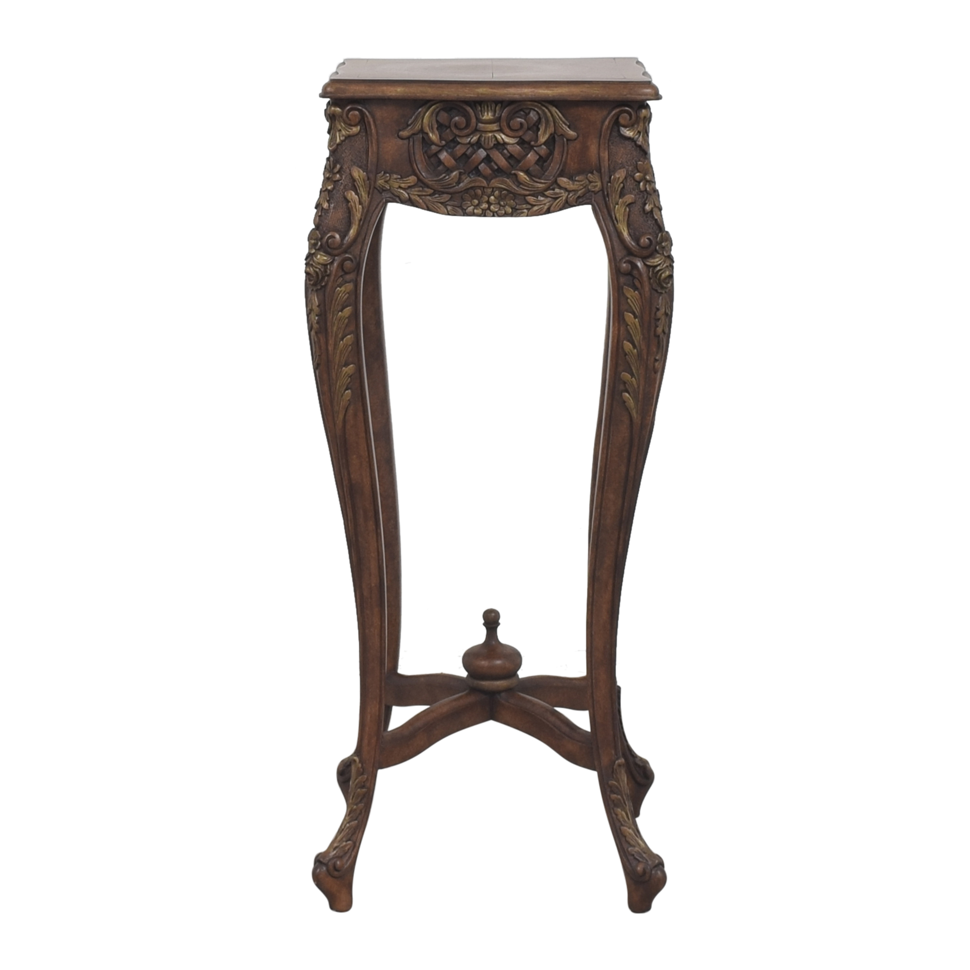 buy  Tall Carved Accent Table online