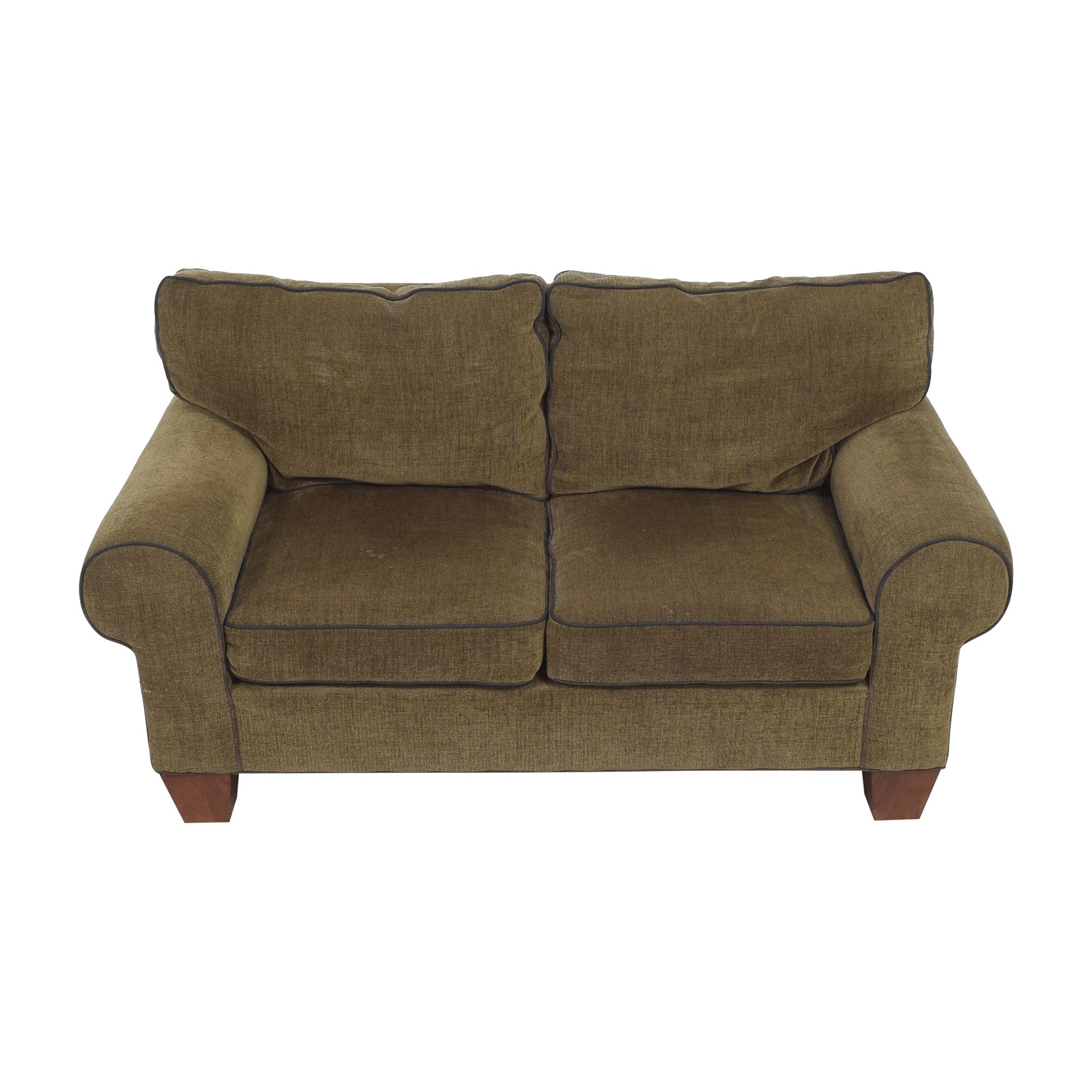 buy Norwalk Furniture Roll Arm Loveseat Norwalk Furniture