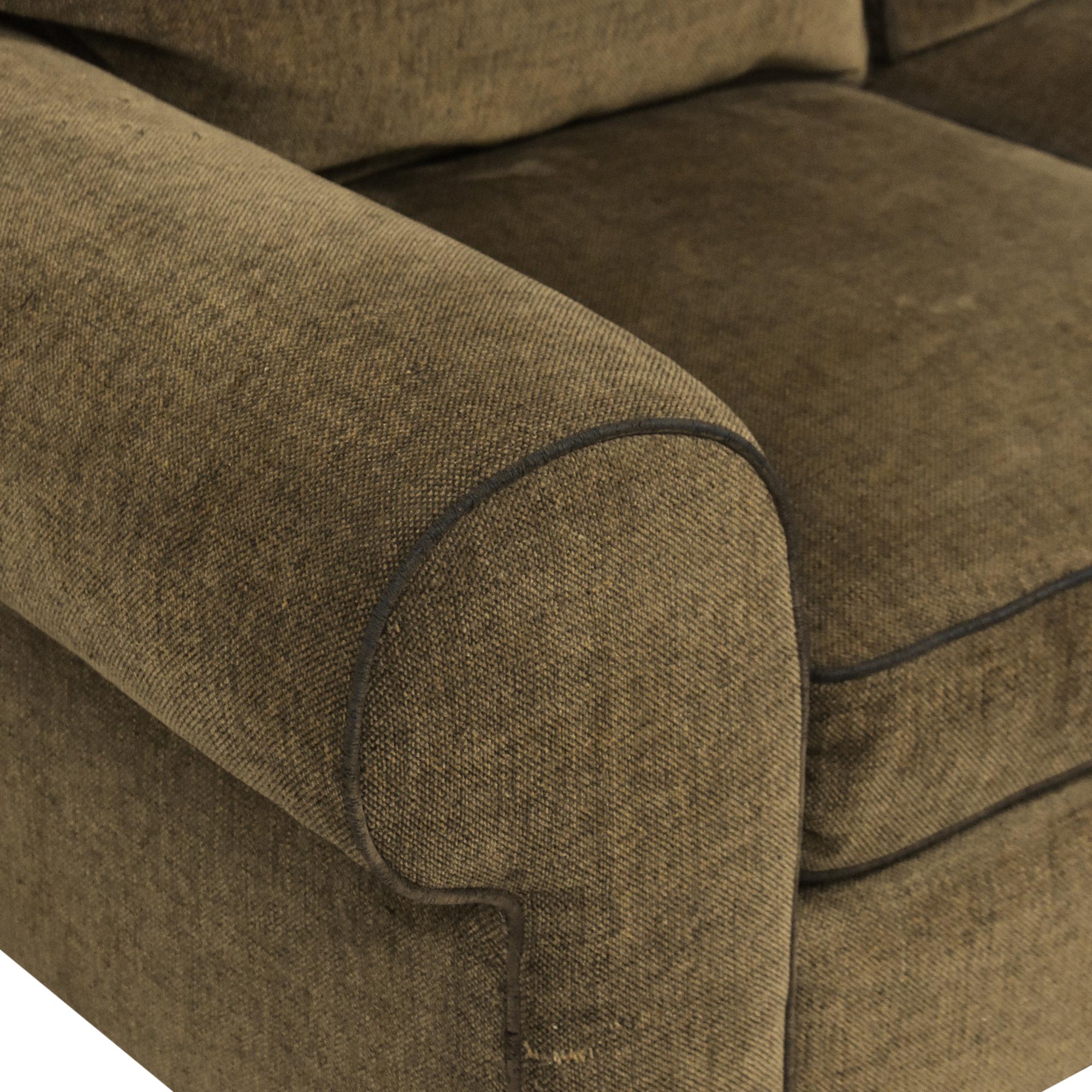 buy Norwalk Furniture Roll Arm Loveseat Norwalk Furniture Sofas