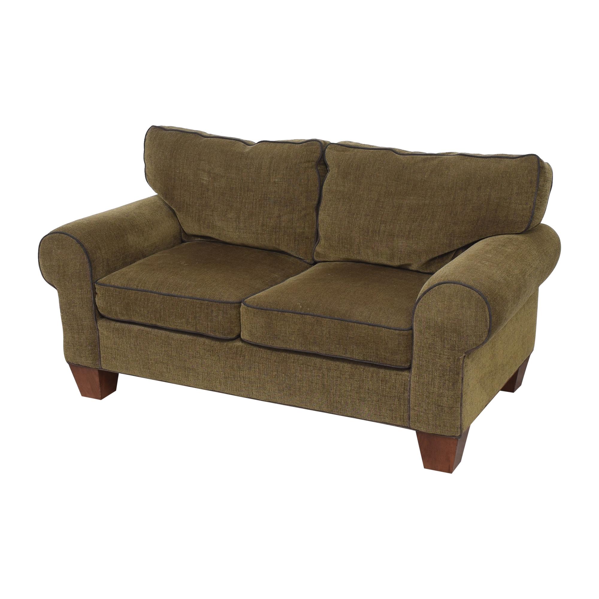 Norwalk Furniture Roll Arm Loveseat / Sofas