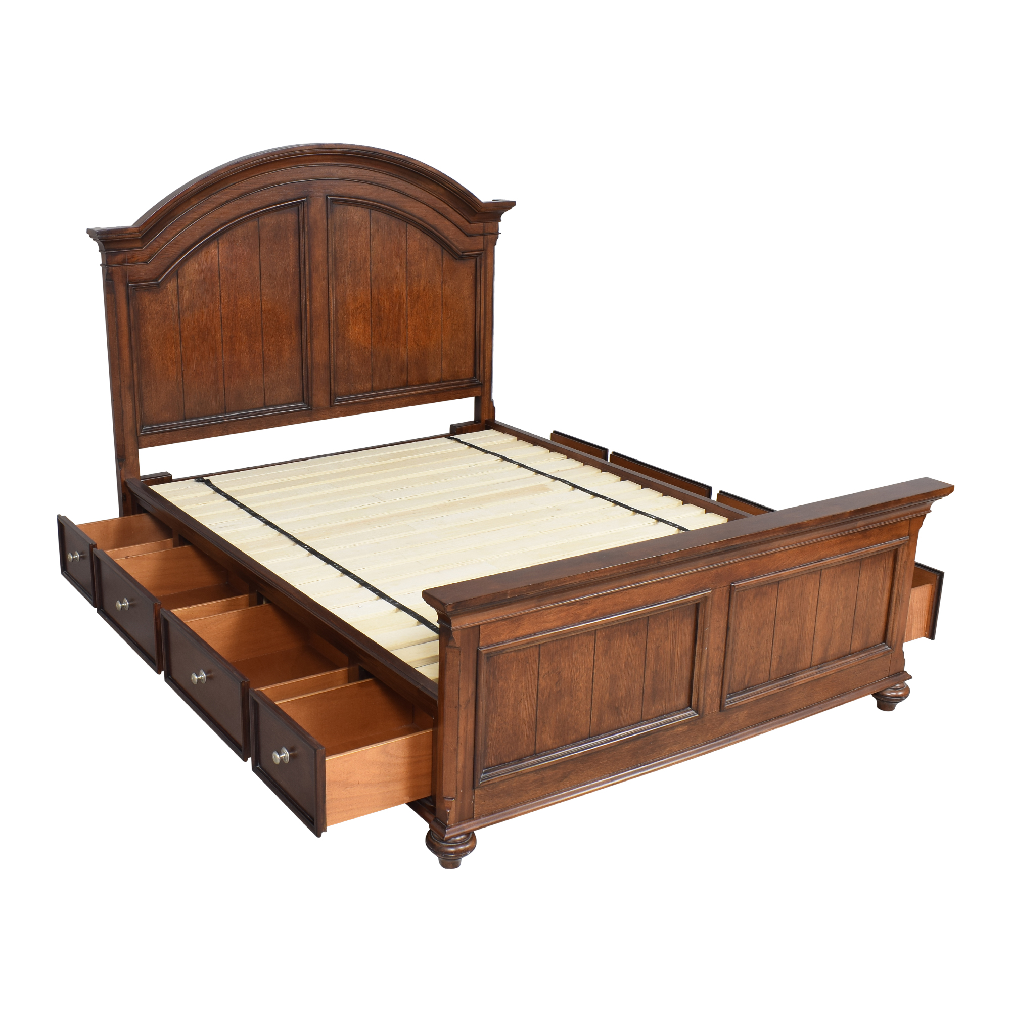 Raymour & Flanigan Legacy Storage Queen Bed sale