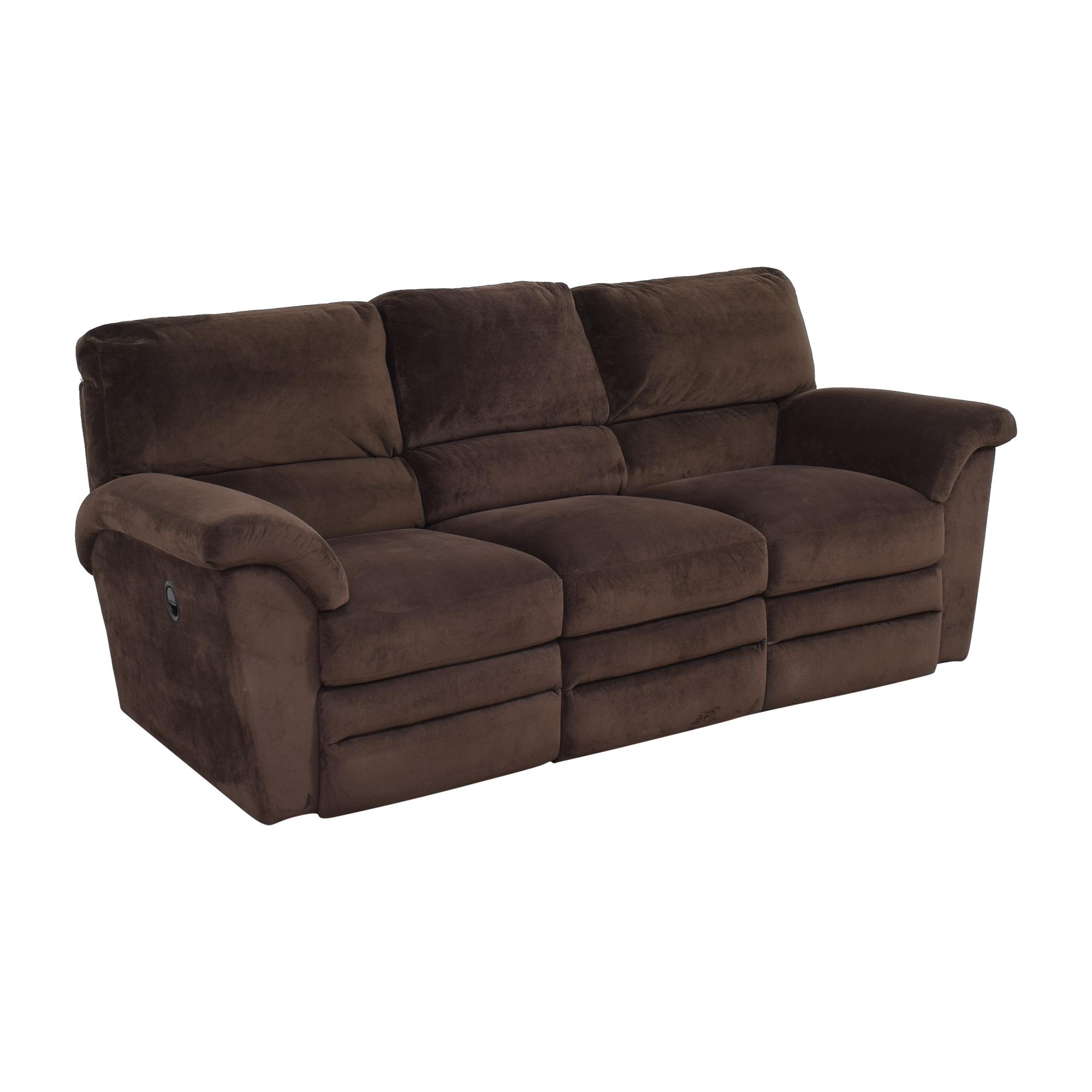 La-Z-Boy Reclining Three Cushion Sofa sale