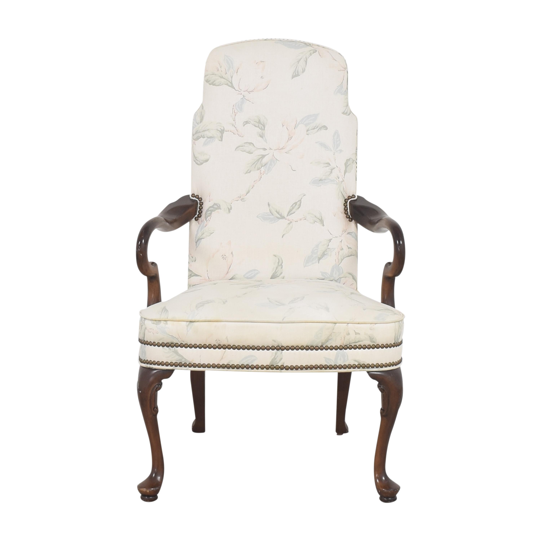 Vintage Nailhead Trim Accent Chair