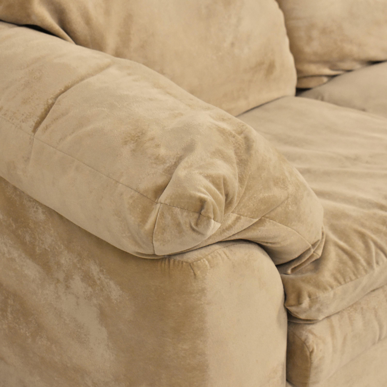 shop Sealy Three Cushion Sofa Sealy Classic Sofas