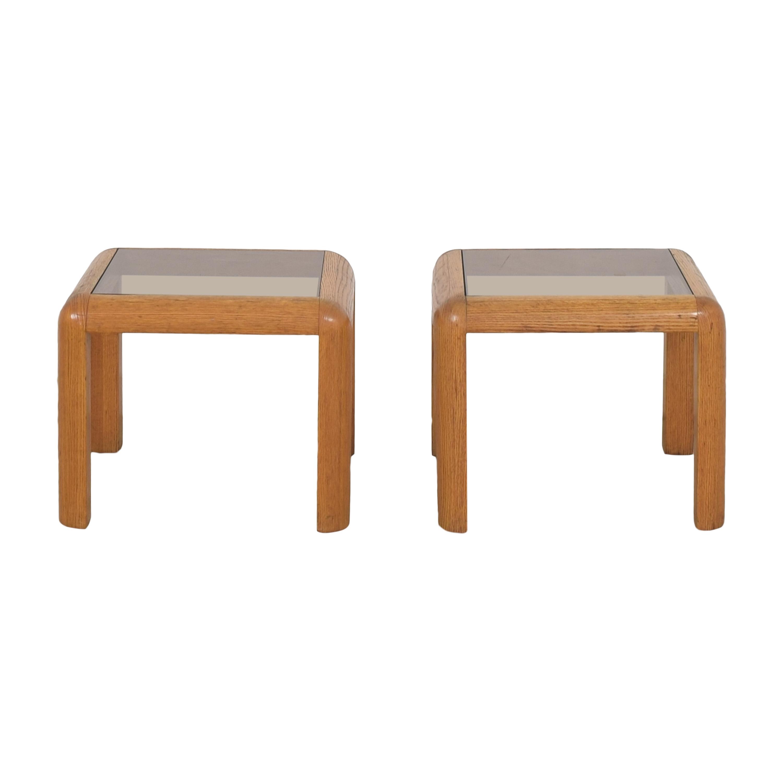 buy Vintage Transparent Side Tables