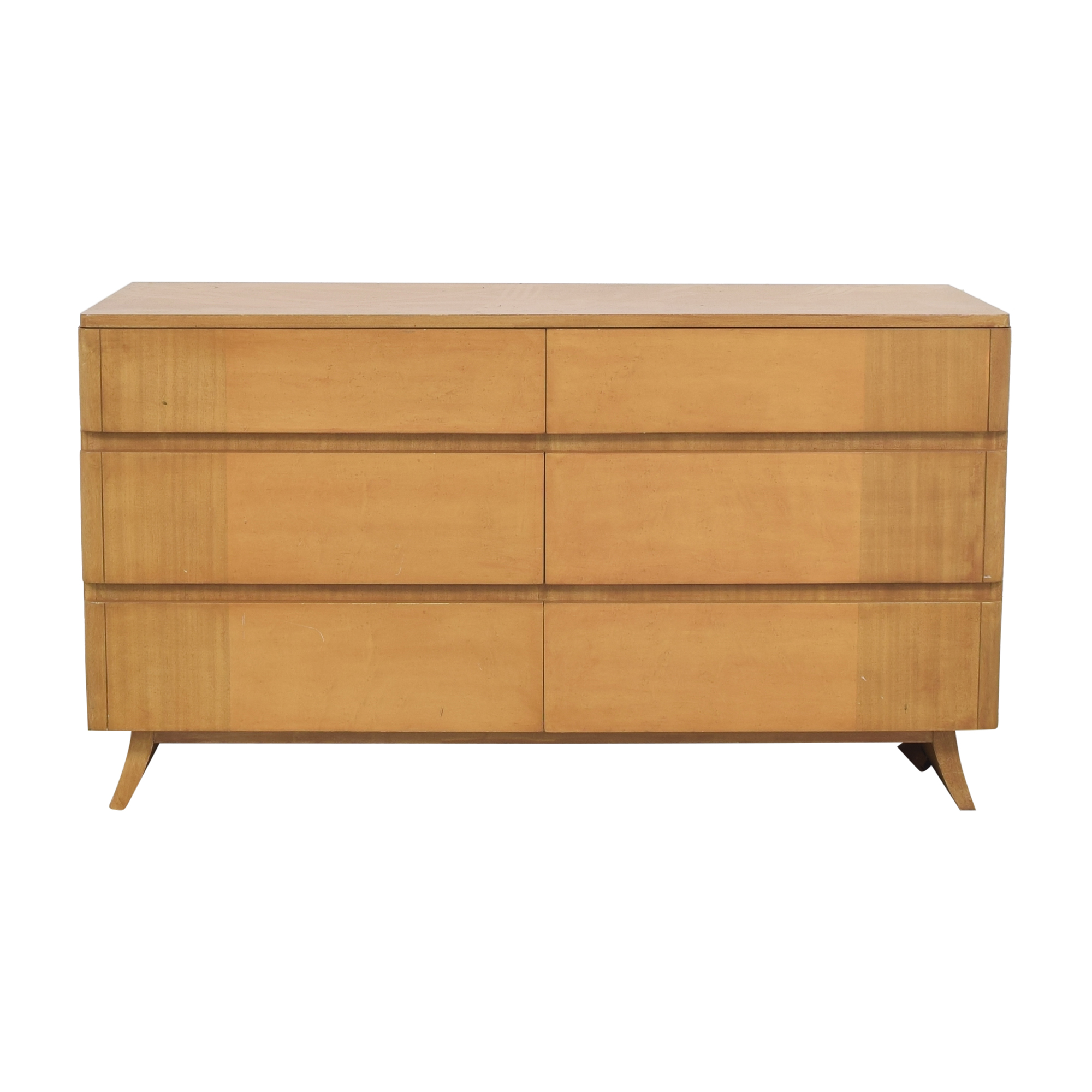 RWAY RWAY Six Drawer Double Dresser second hand