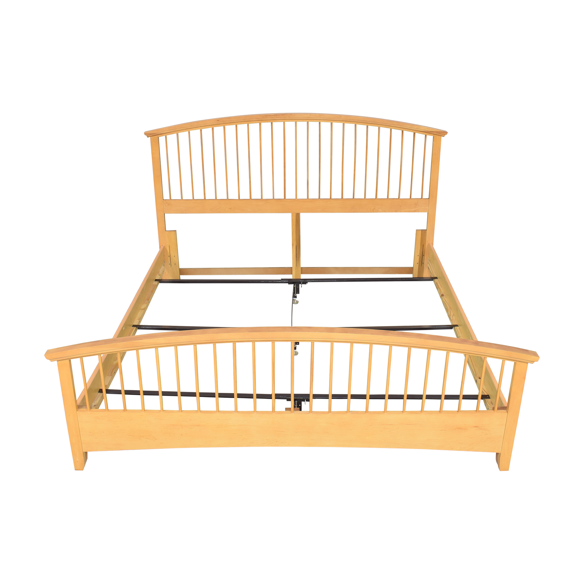 Vaughan-Bassett Vaughan-Bassett Arched Spindle King Bed dimensions