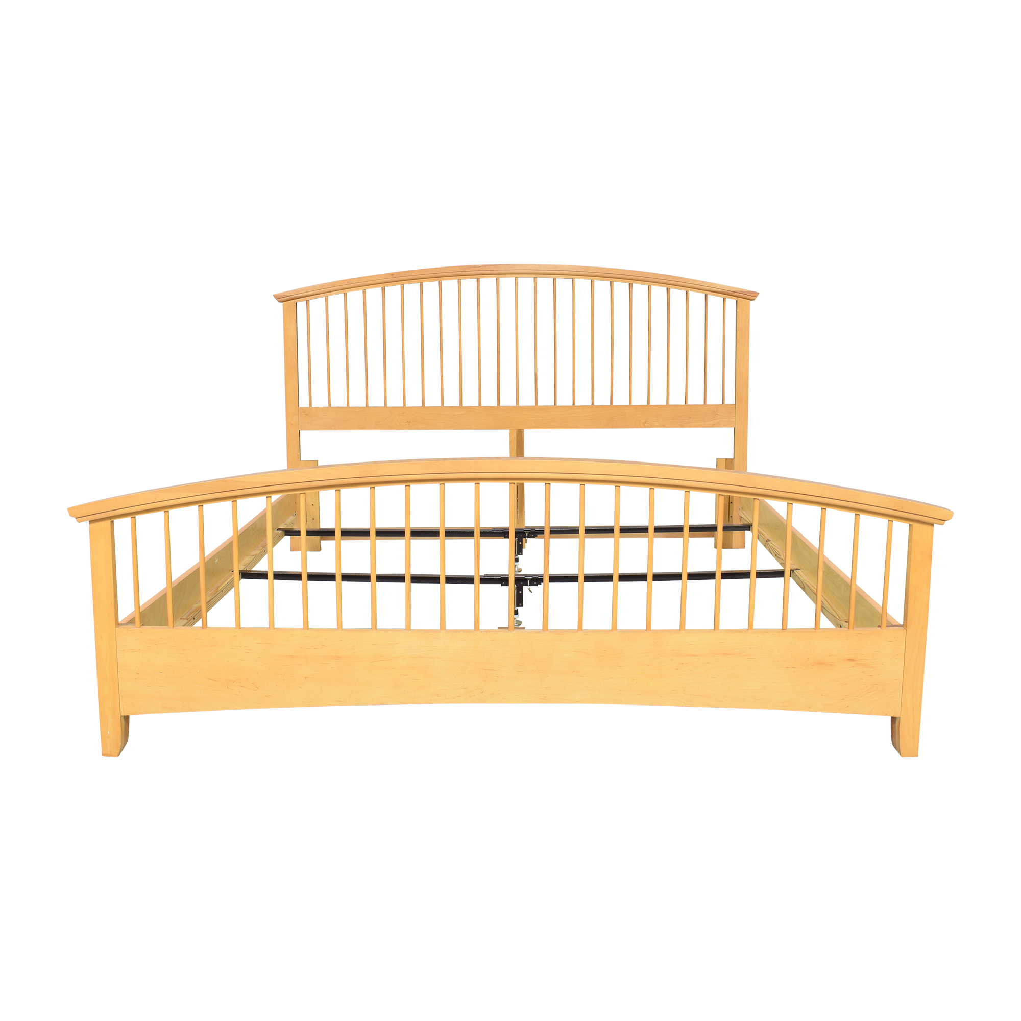 Vaughan-Bassett Vaughan-Bassett Arched Spindle King Bed nj