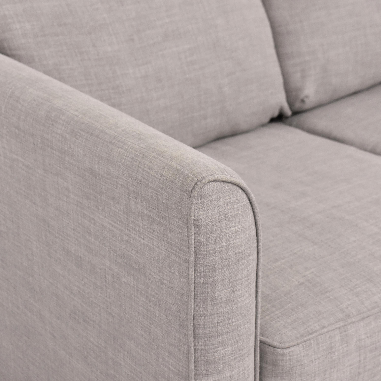 Jennifer Furniture Tilly Twin Sleeper Loveseat  / Sofa Beds