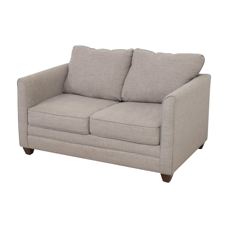 Jennifer Furniture Tilly Twin Sleeper Loveseat  / Sofas