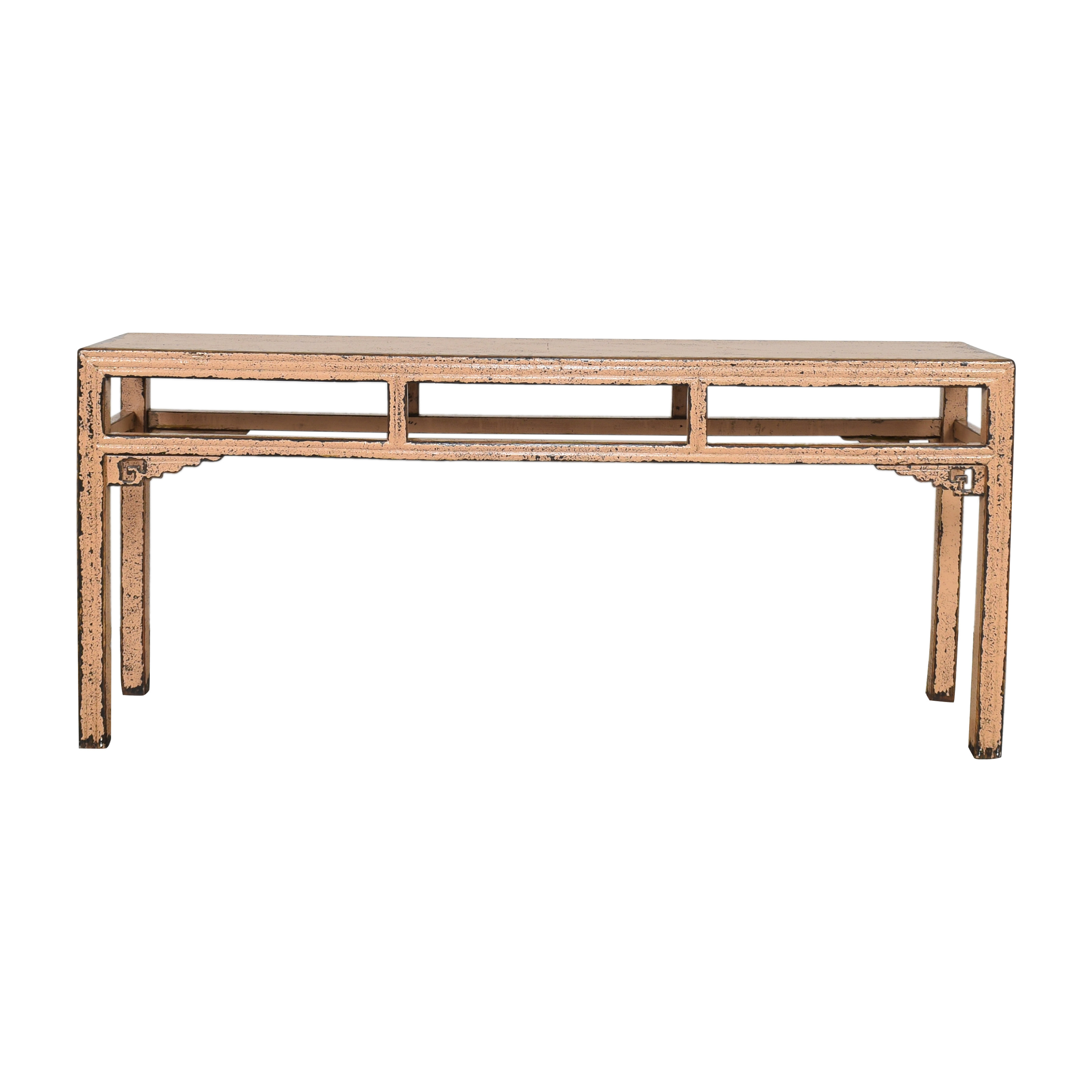 buy HD Buttercup Distressed Console Table HD Buttercup Tables