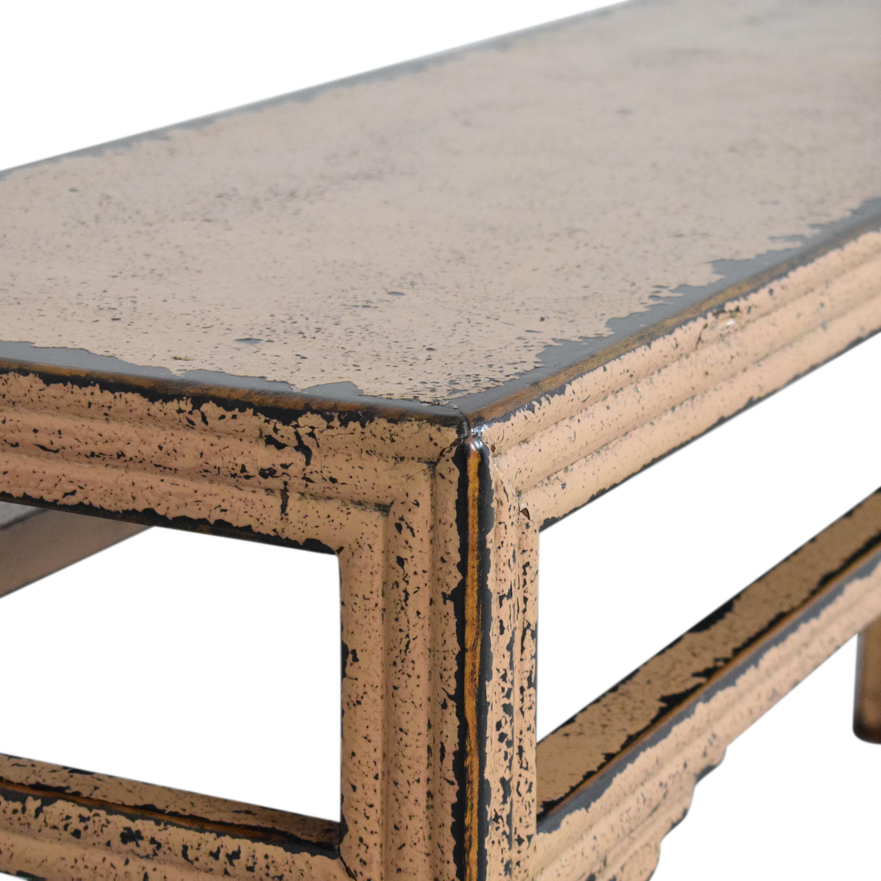 buy HD Buttercup Distressed Console Table HD Buttercup Accent Tables