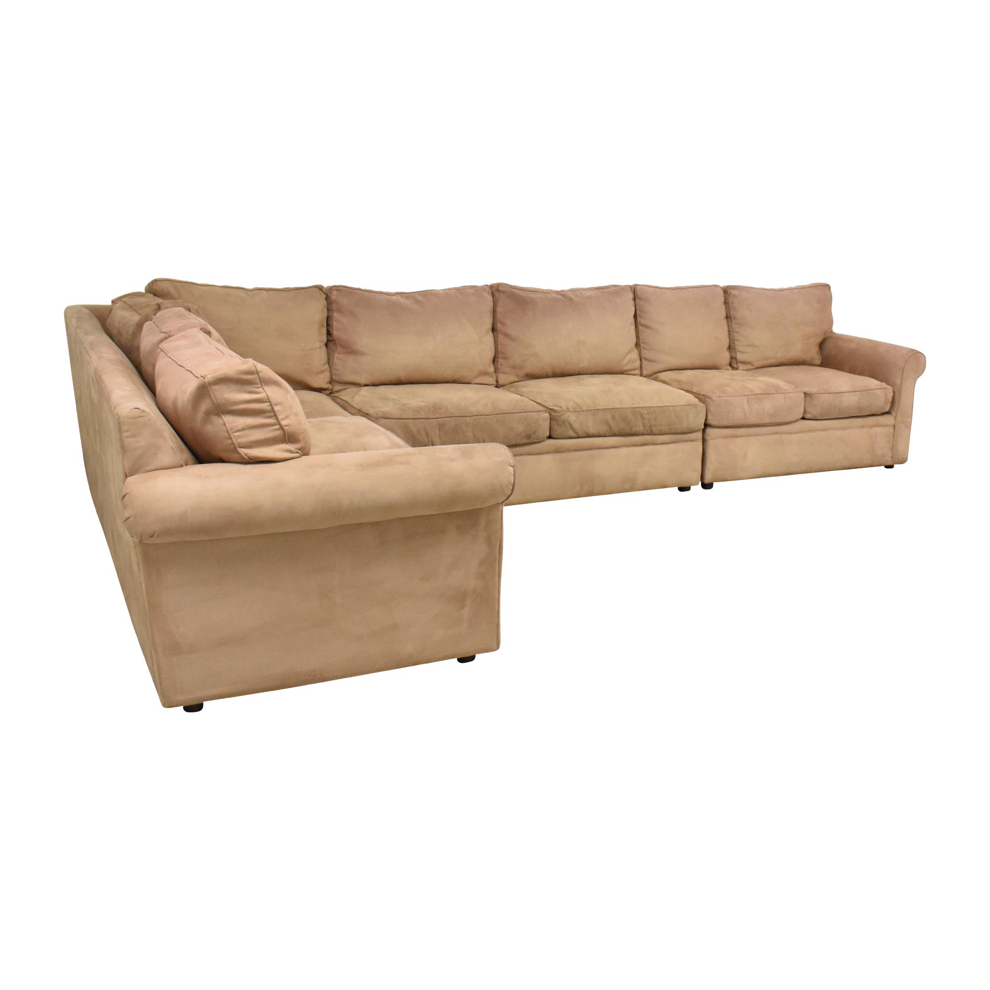buy Rowe Furniture Corner Sectional Sofa Rowe Furniture