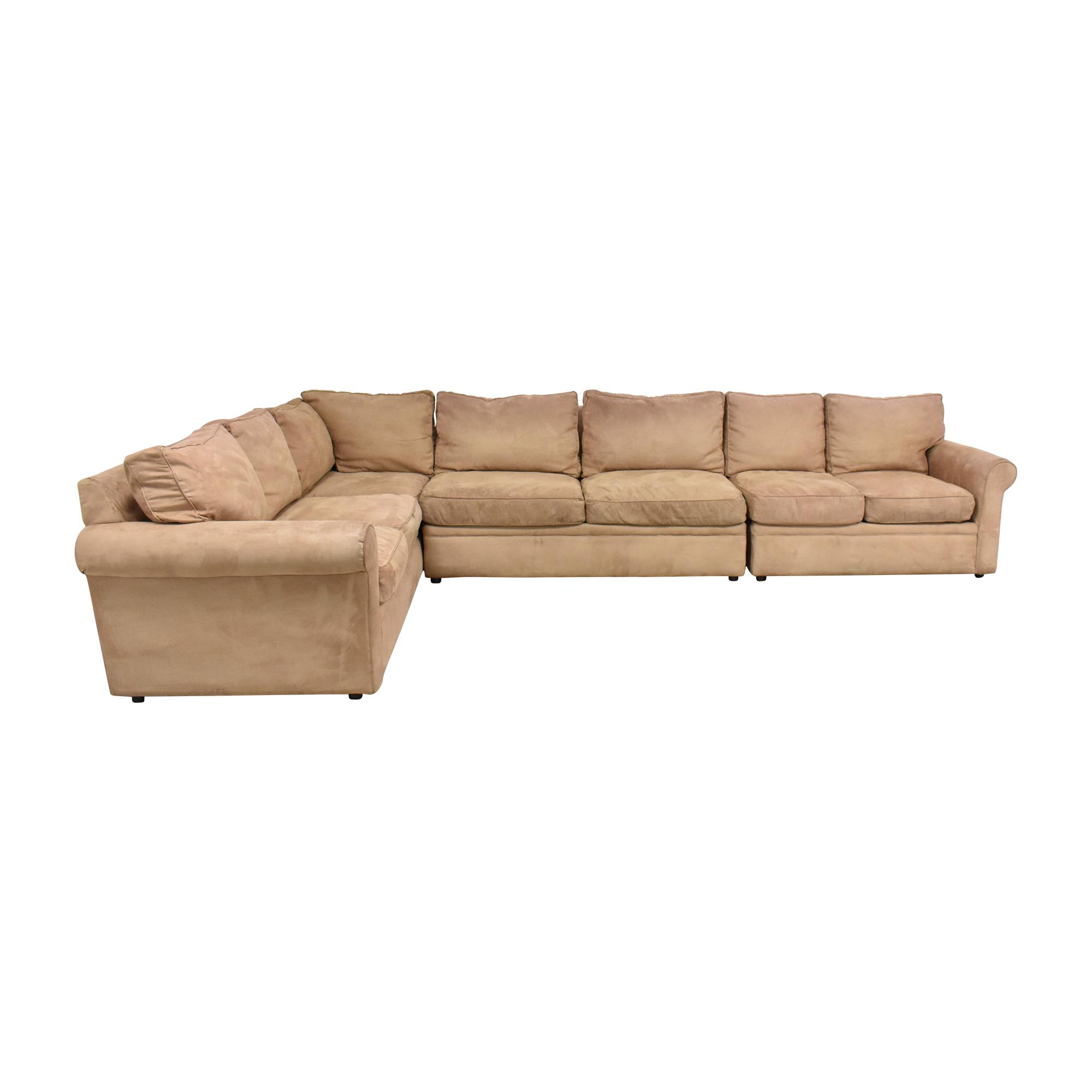 buy Rowe Furniture Corner Sectional Sofa Rowe Furniture Sectionals