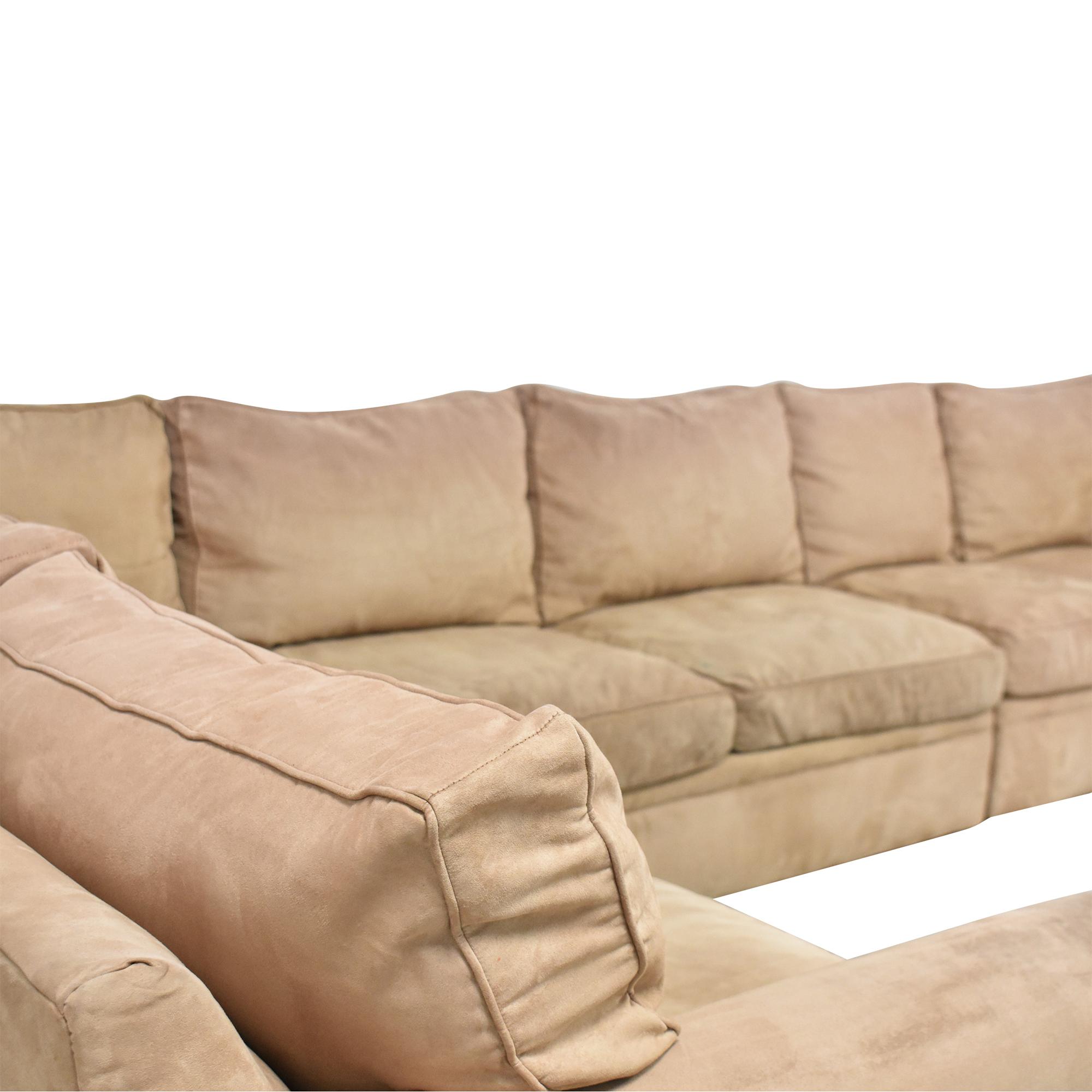 Rowe Furniture Rowe Furniture Corner Sectional Sofa dimensions