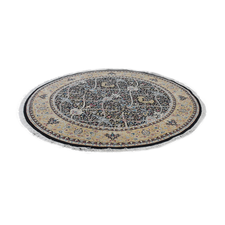 Bloomingdale's Round Oriental-Style Rug sale