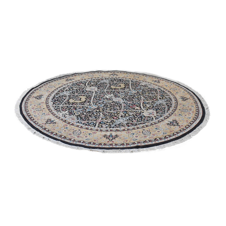 Bloomingdale's Bloomingdale's Round Oriental-Style Rug dimensions