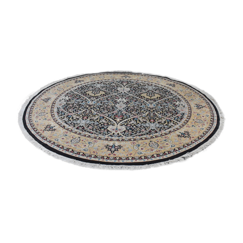 Bloomingdale's Bloomingdale's Round Oriental-Style Rug nj