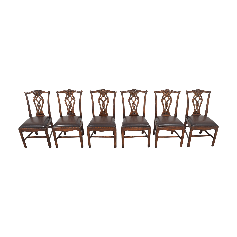 shop Theodore Alexander Queen Anne Dining Chairs Theodore Alexander