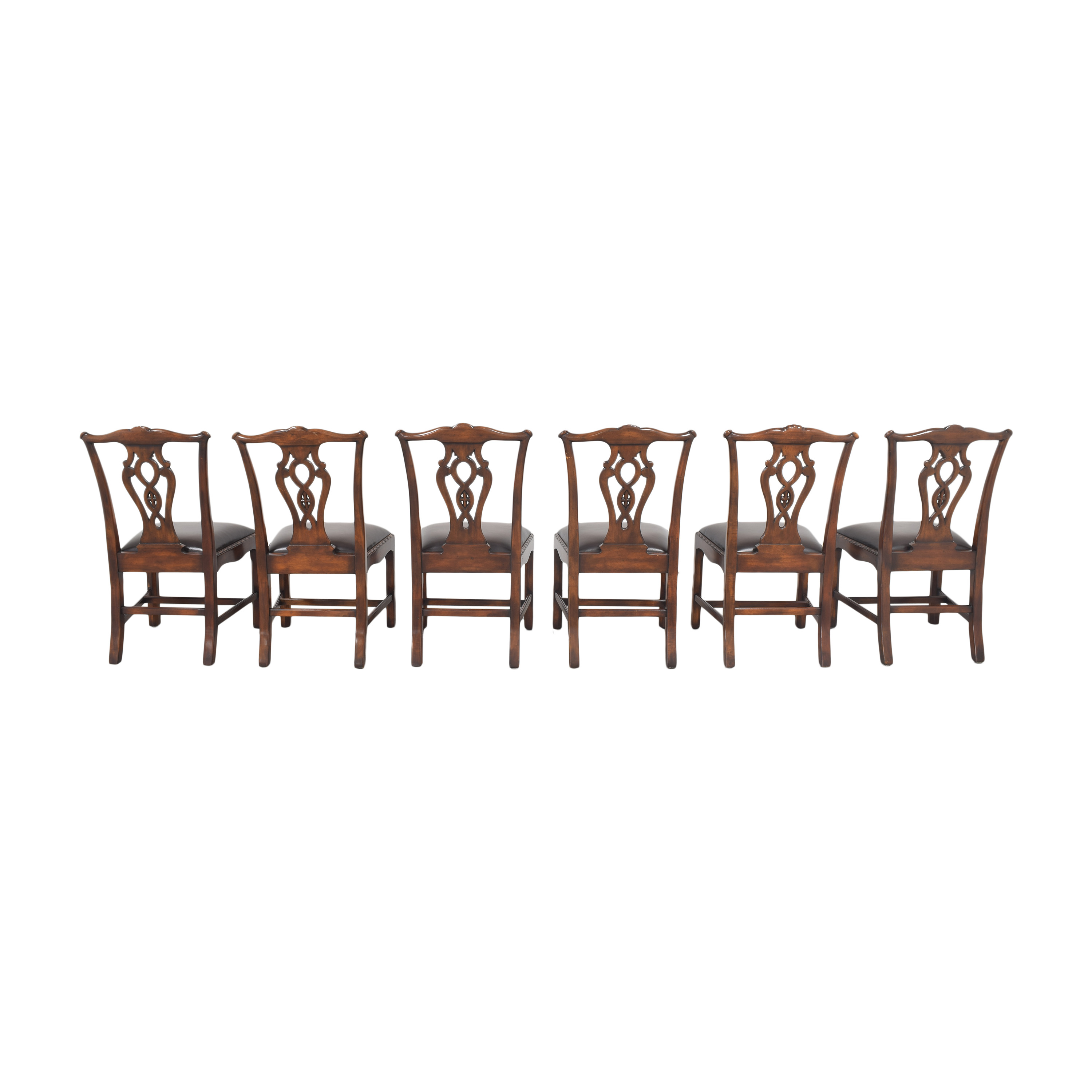 Theodore Alexander Theodore Alexander Queen Anne Dining Chairs second hand