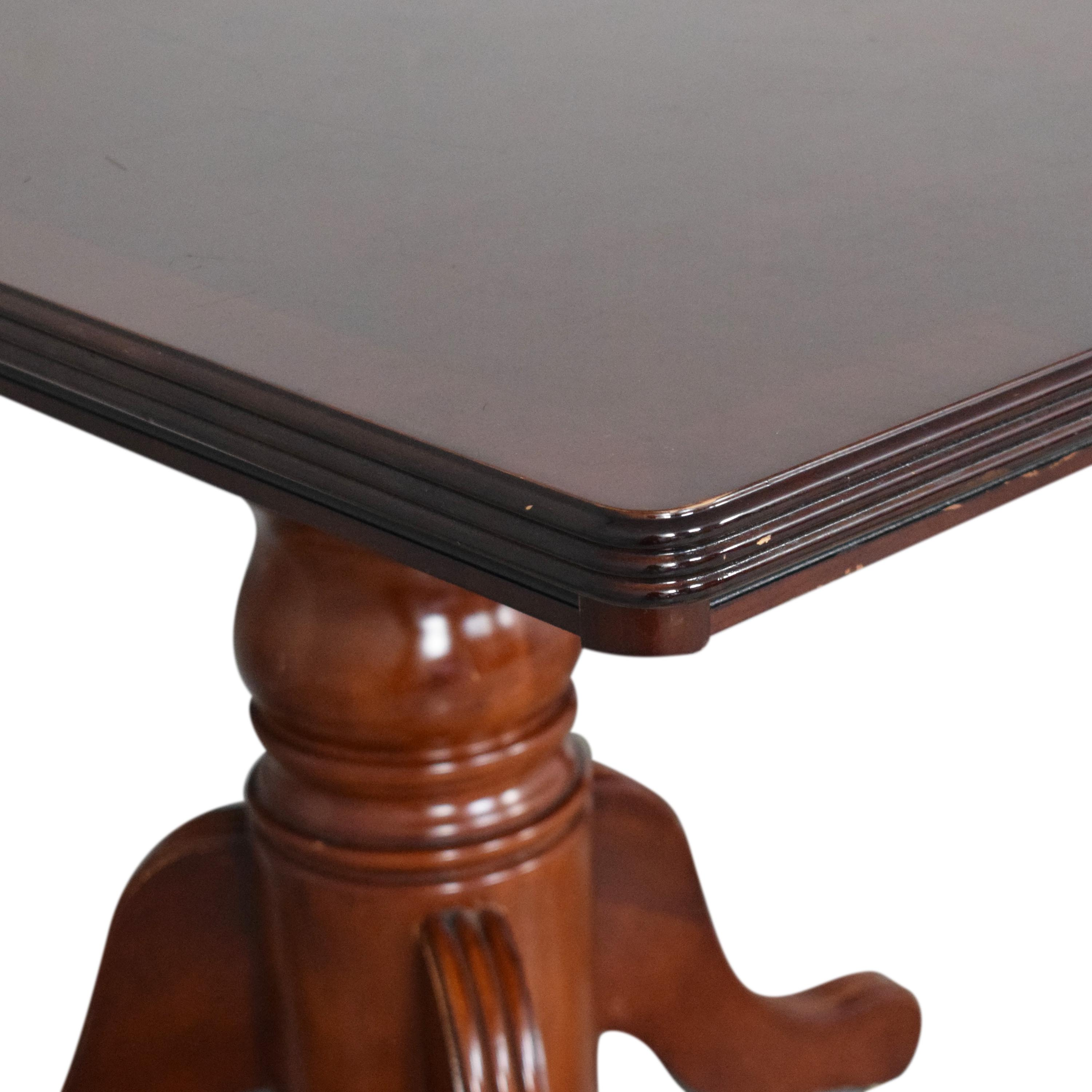 buy Double Pedestal Extendable Dining Table  Tables
