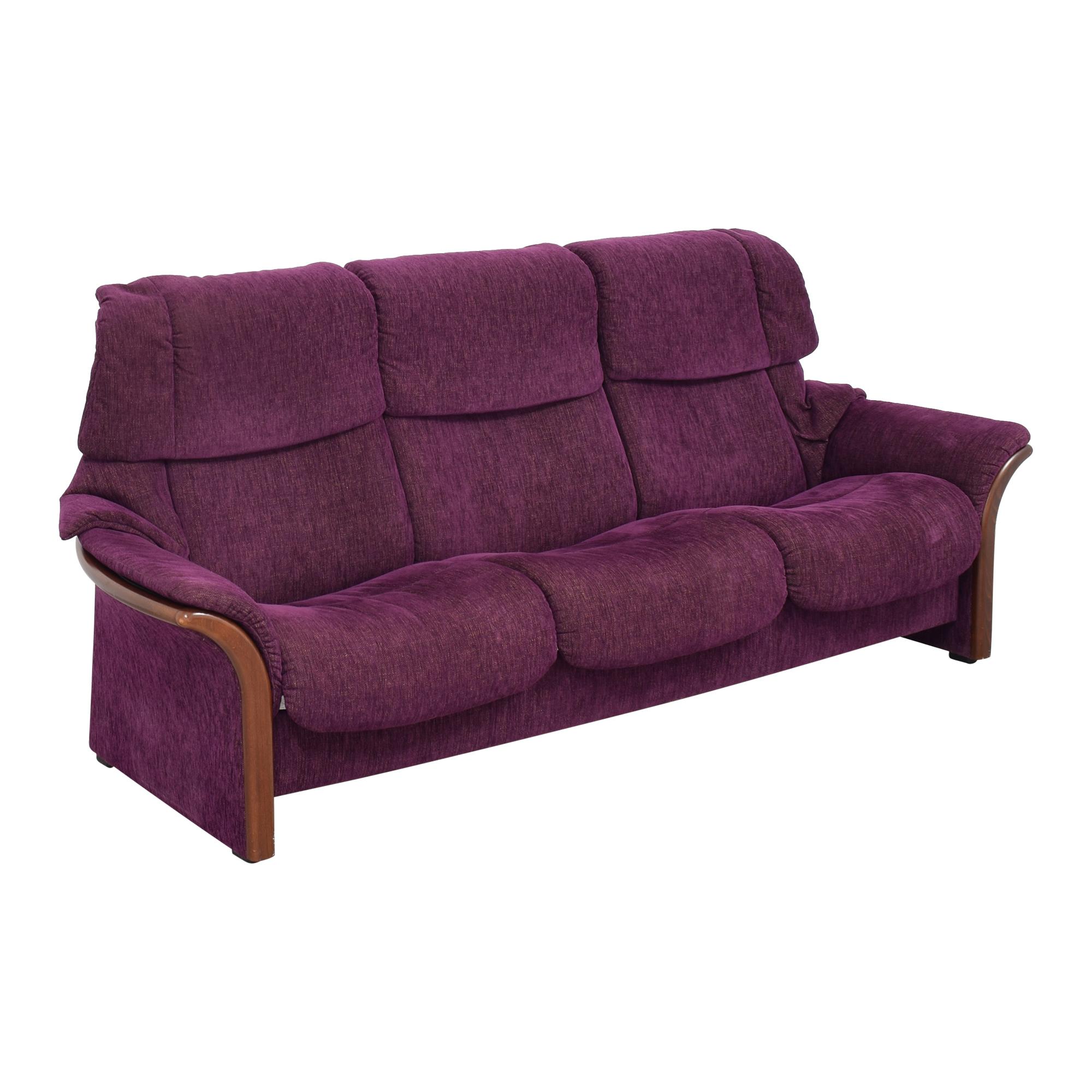 Ekornes Ekornes Stressless Eldorado High Reclining Sofa second hand