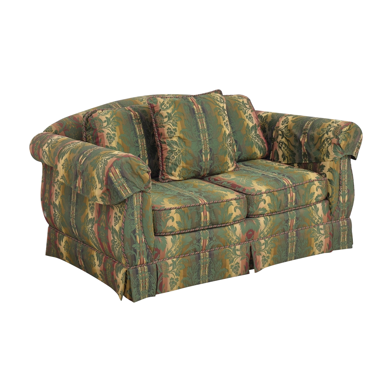 shop Thomasville Two Cushion Sofa Thomasville Sofas