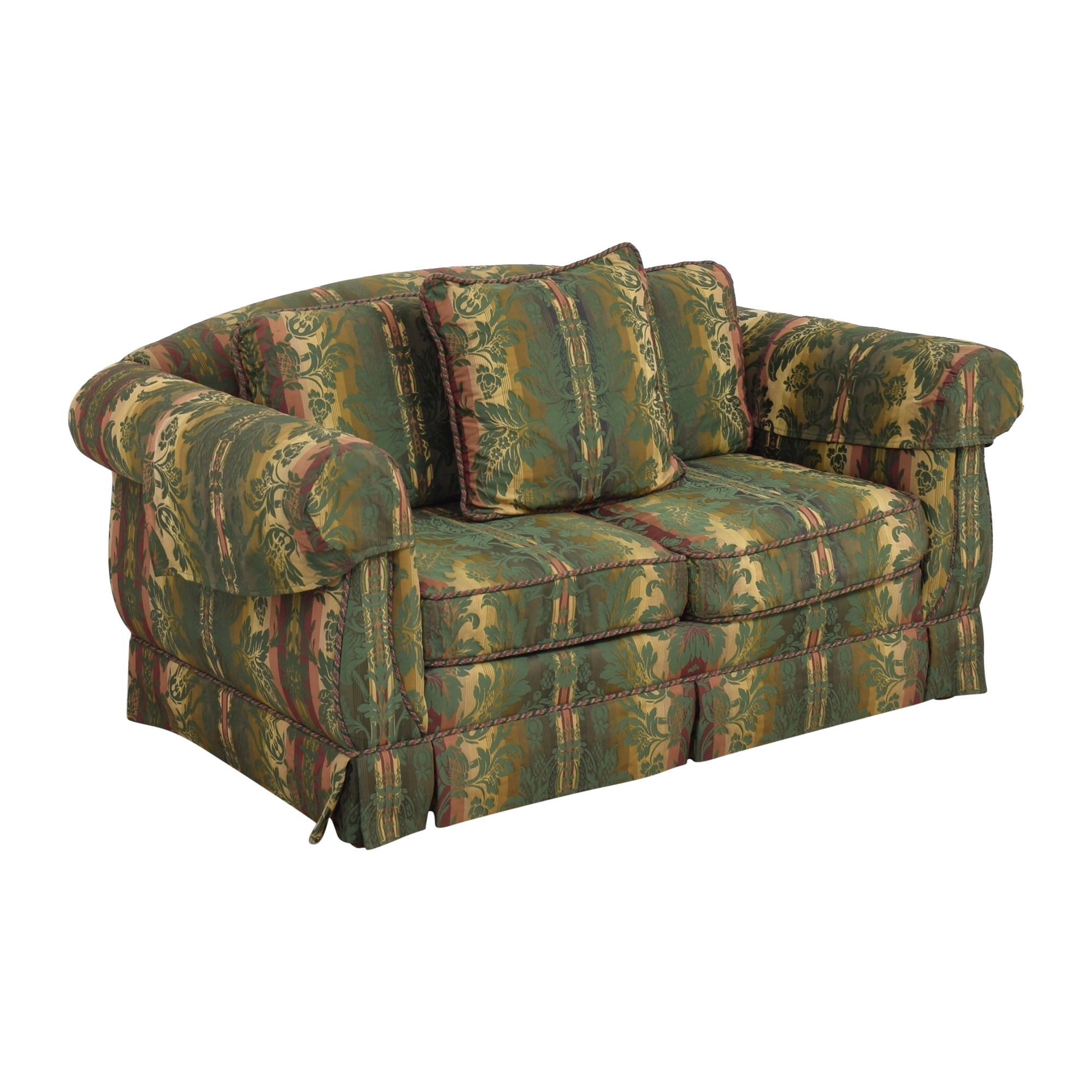 shop Thomasville Patterned Two Cushion Sofa Thomasville Classic Sofas