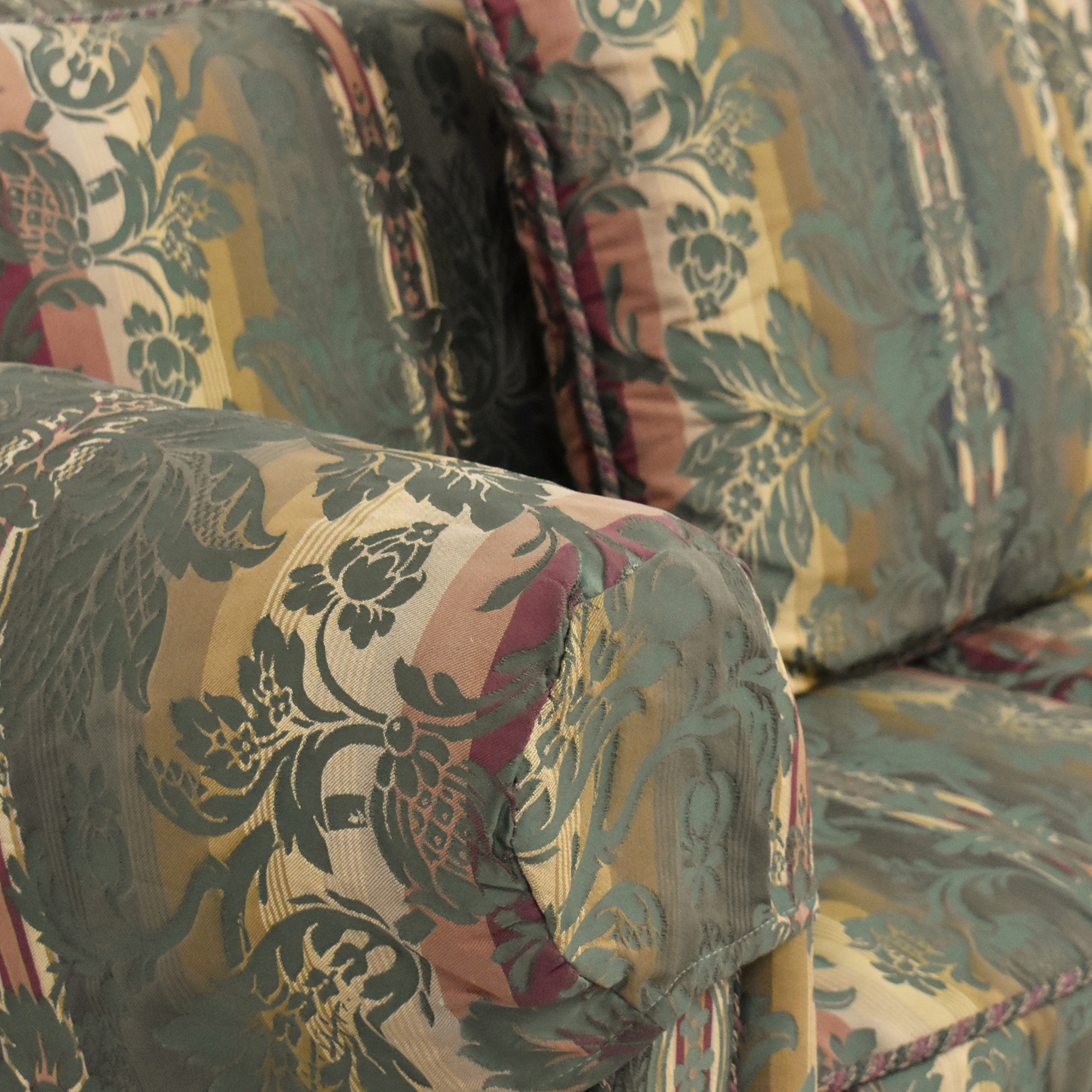 buy Thomasville Thomasville Patterned Two Cushion Sofa online